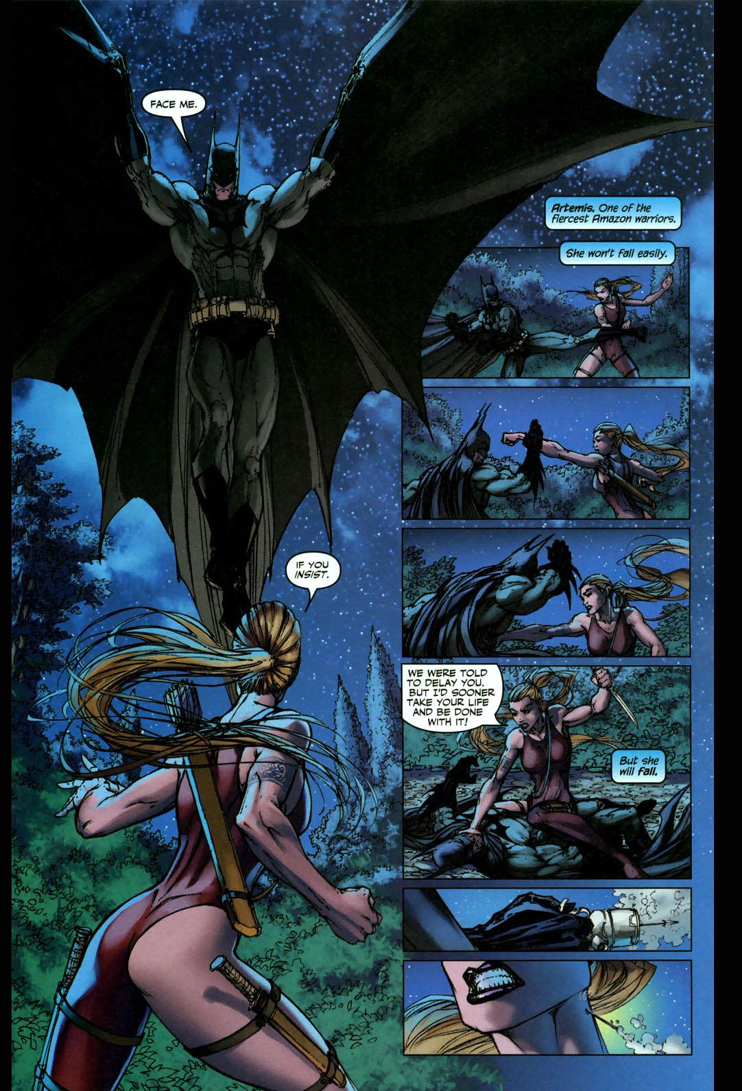 batman vs artemis 2
