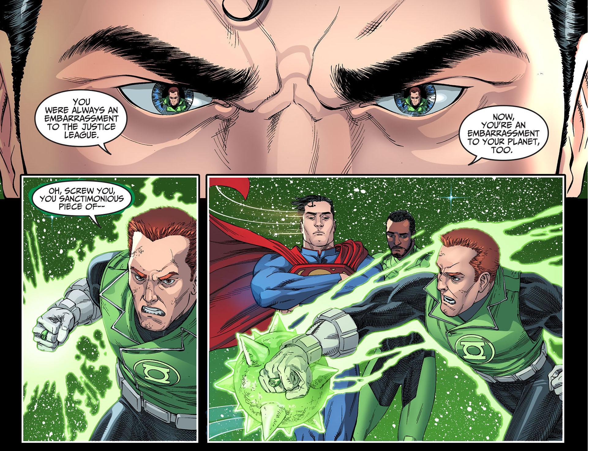 guy gardner parleys with superman 4