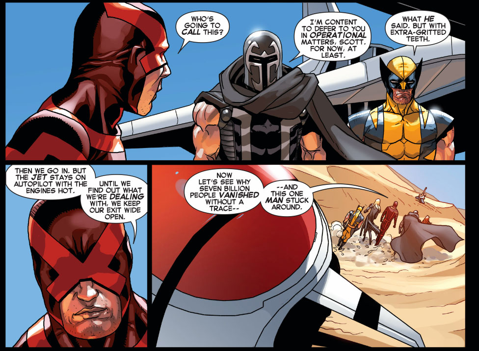 magneto and wolverine follows cyclops