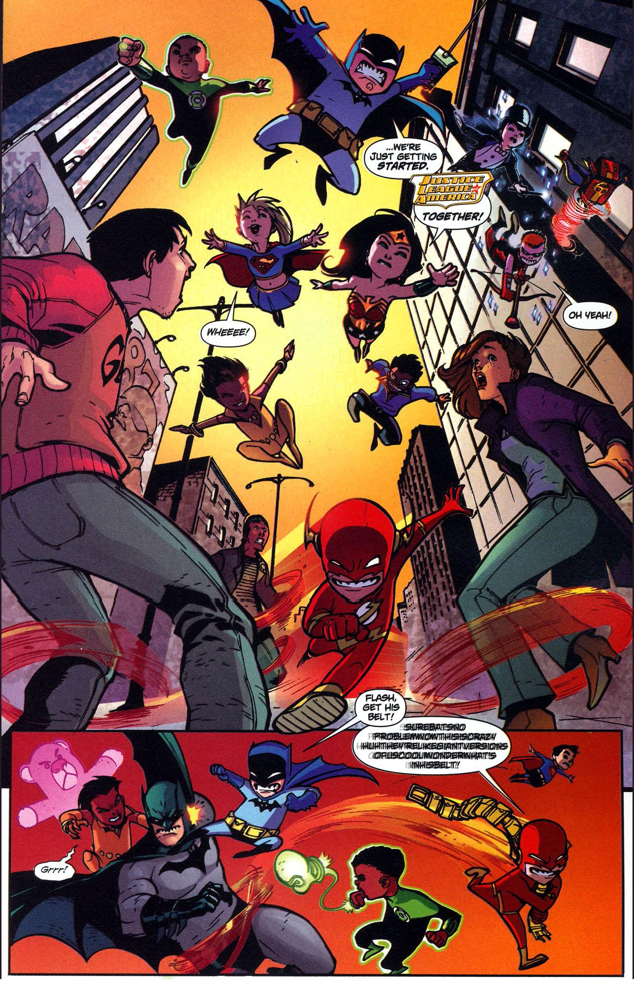 superman and batman vs mini justice league 2