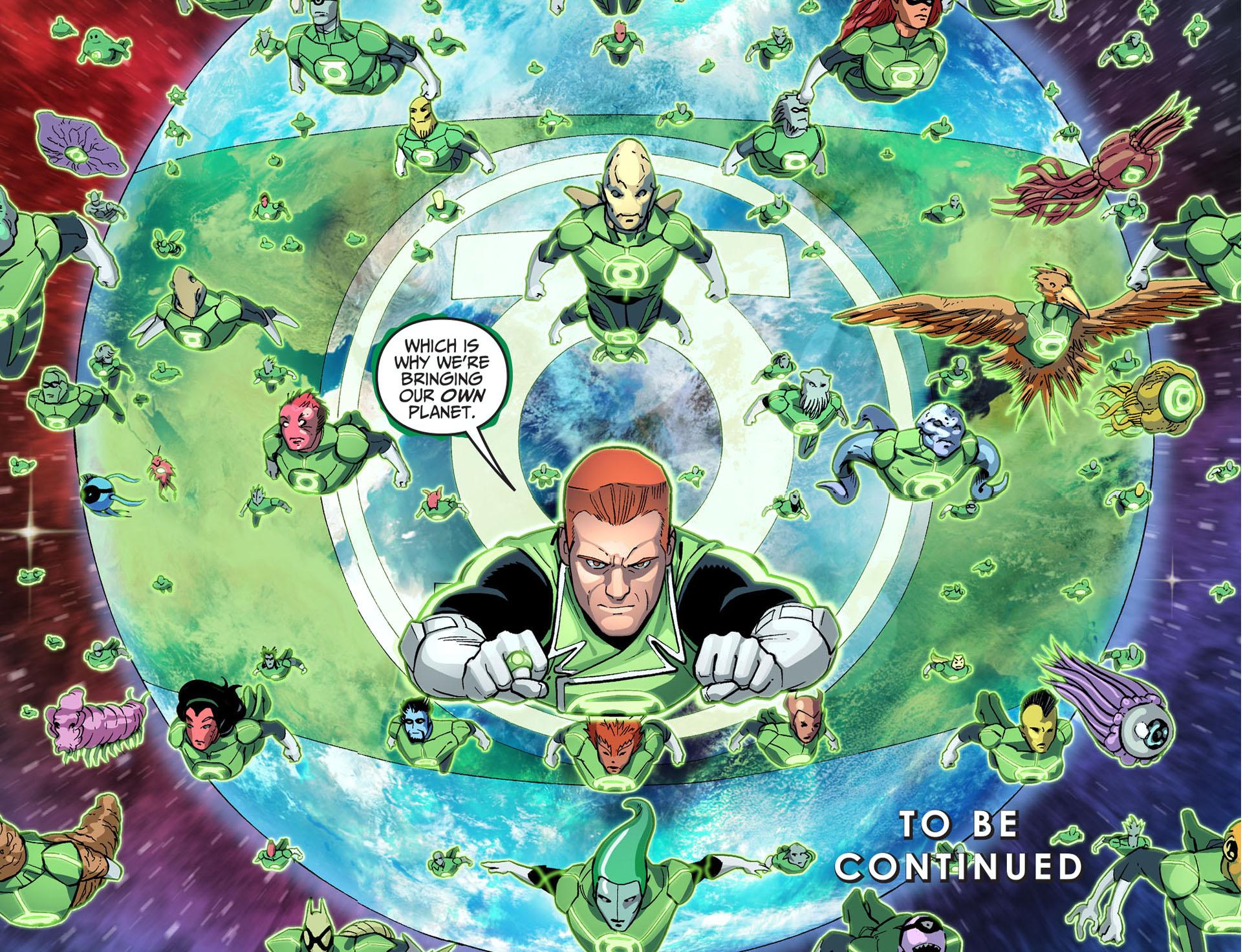 the green lantern corps bring their secret weapon 3