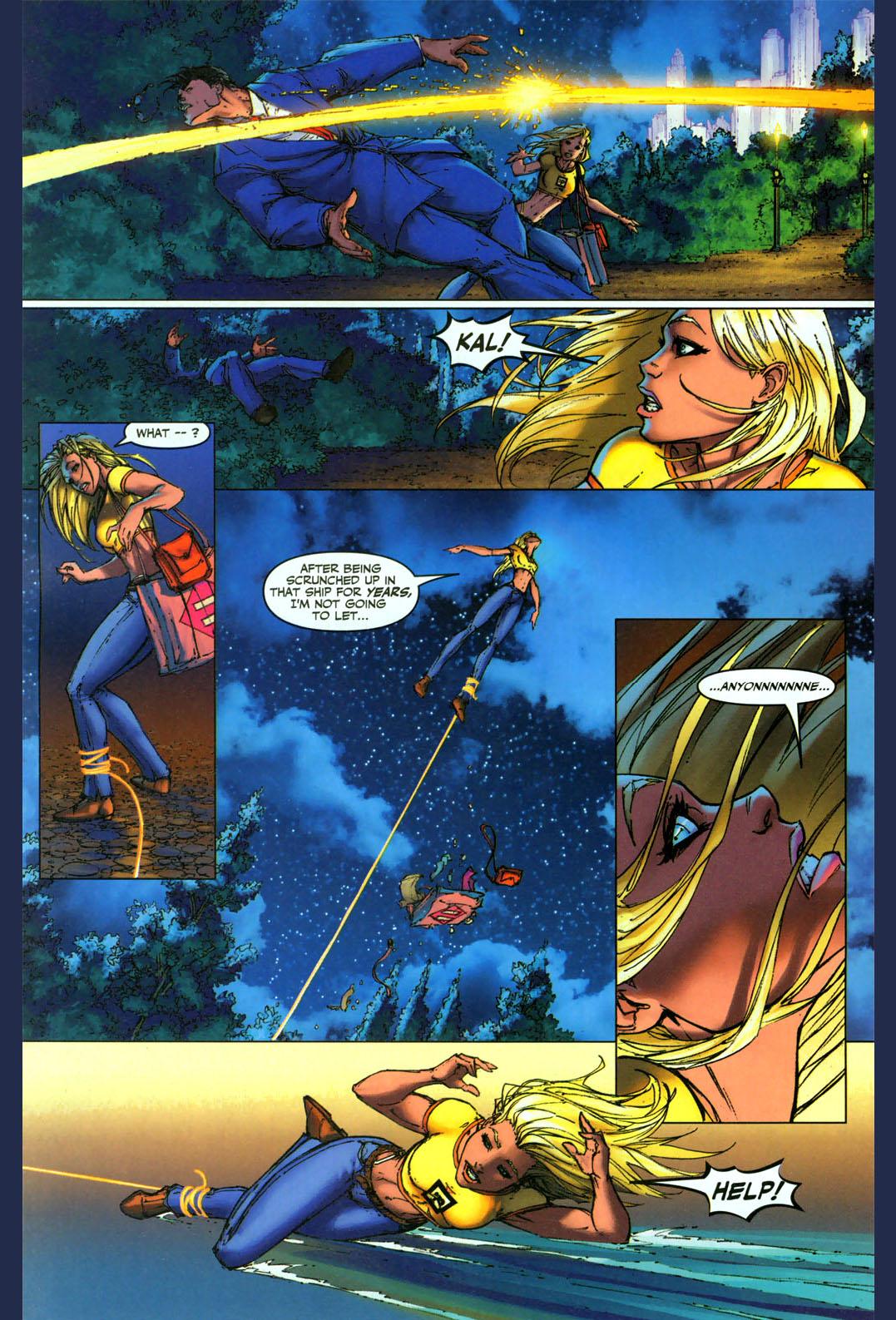 wonder woman kidnaps supergirl