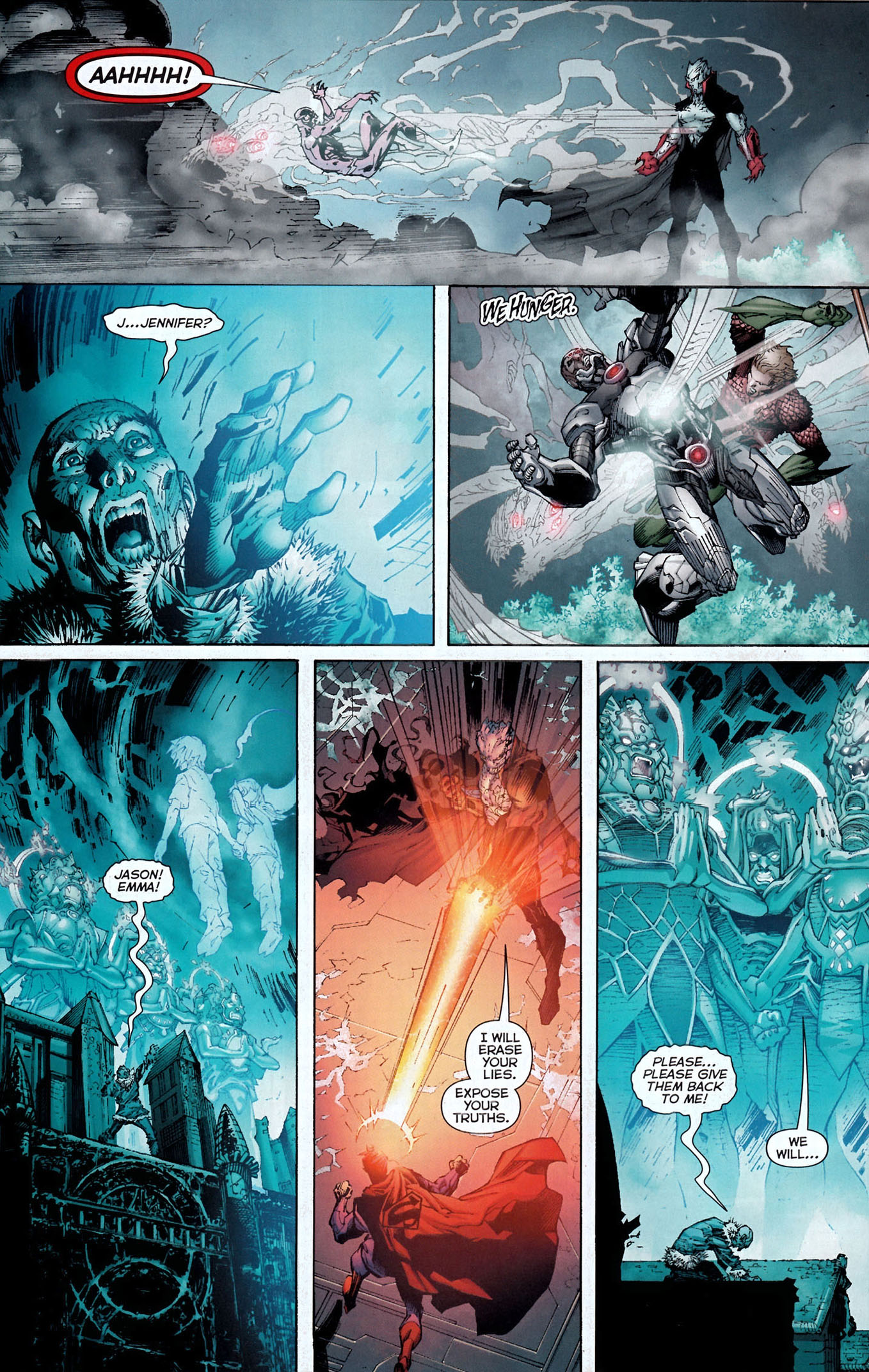 graves takes out the justice league 3