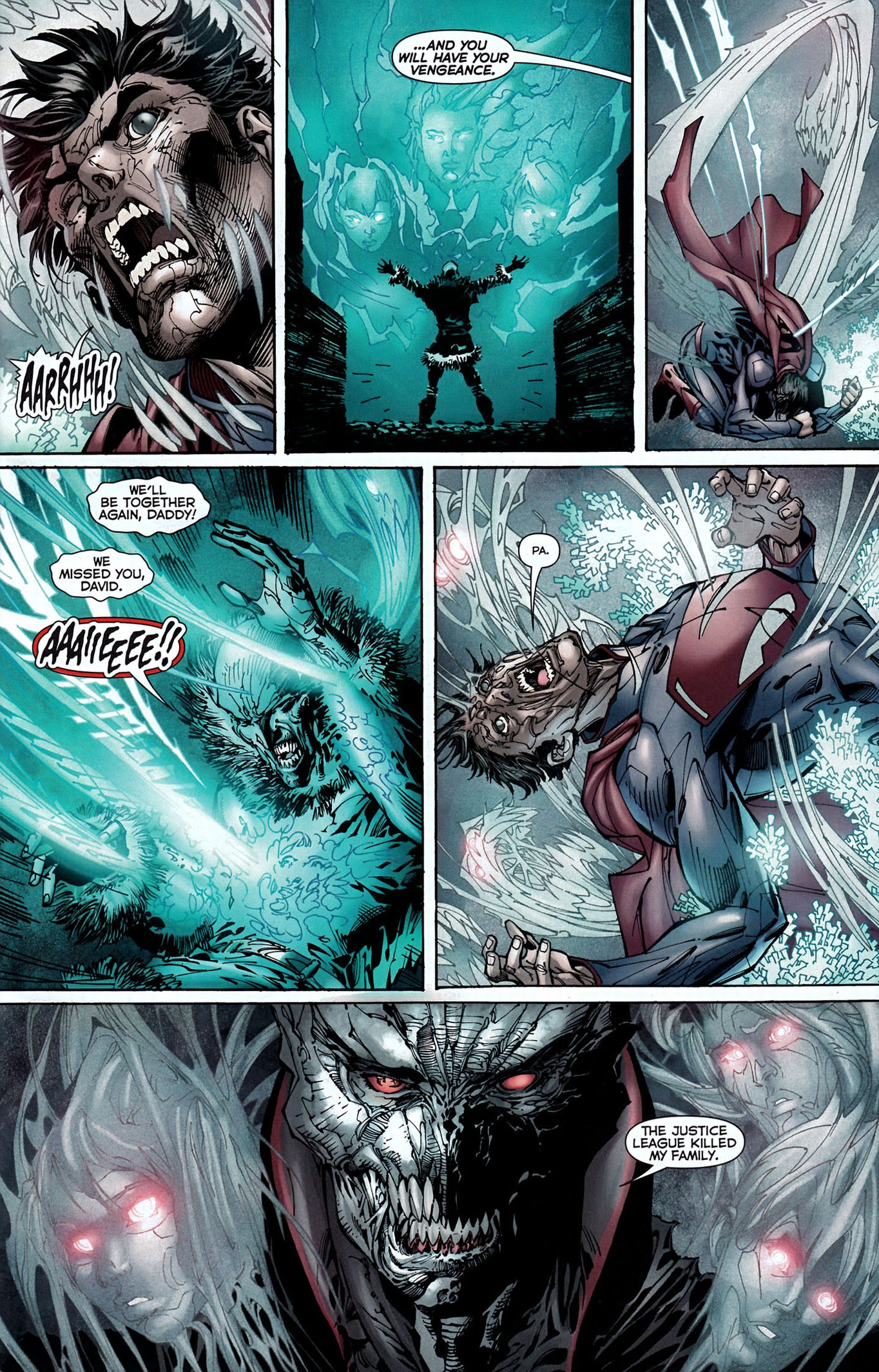 graves takes out the justice league 4