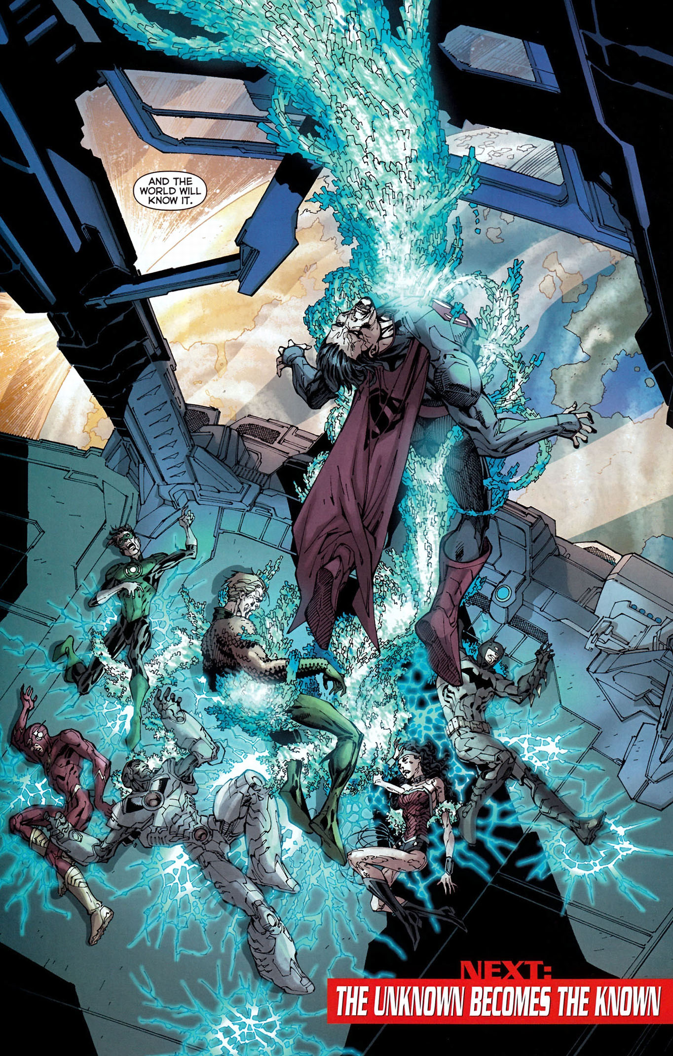 graves takes out the justice league 5