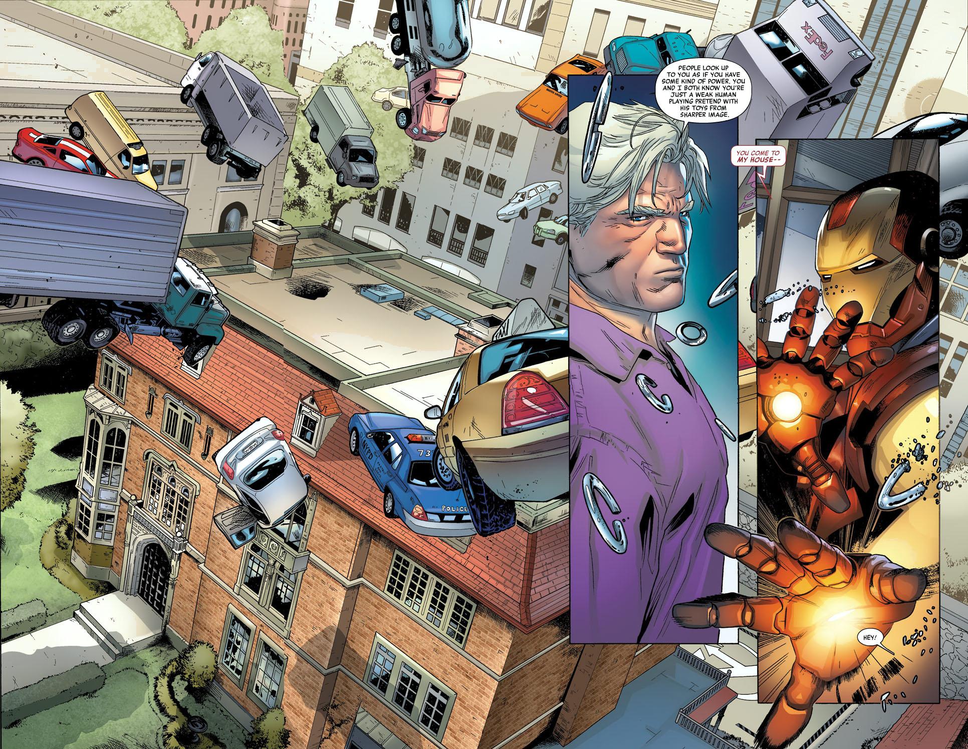 iron man and magneto standoff 2