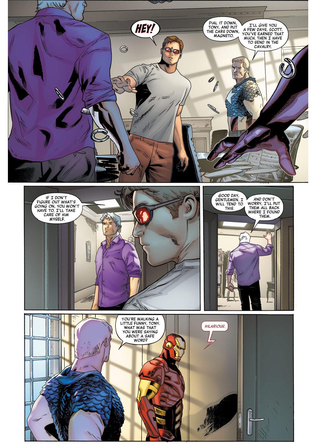 iron man and magneto standoff 3