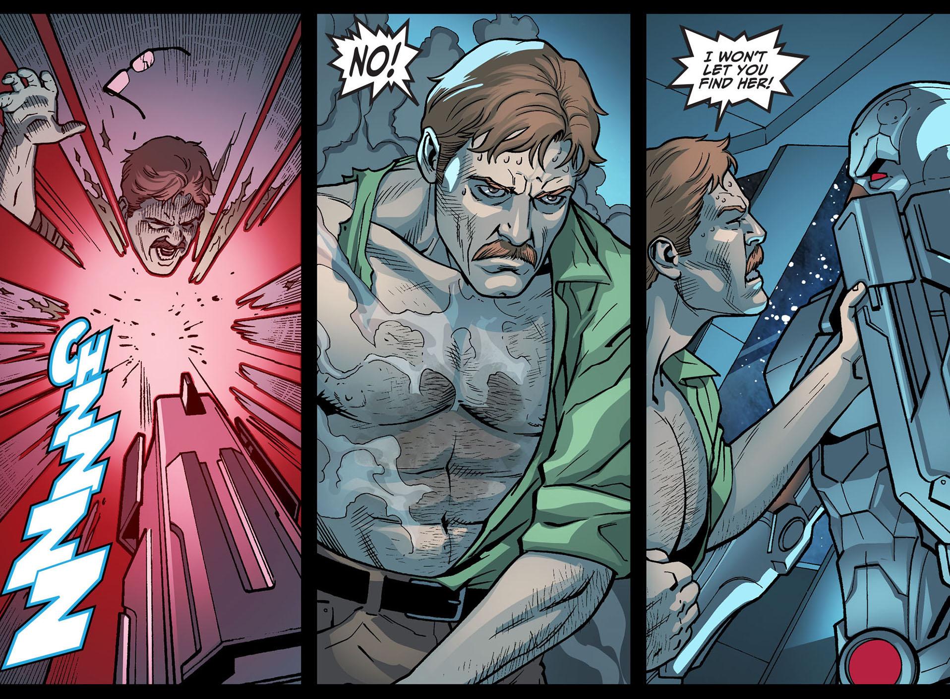 jim gordon vs cyborg 2