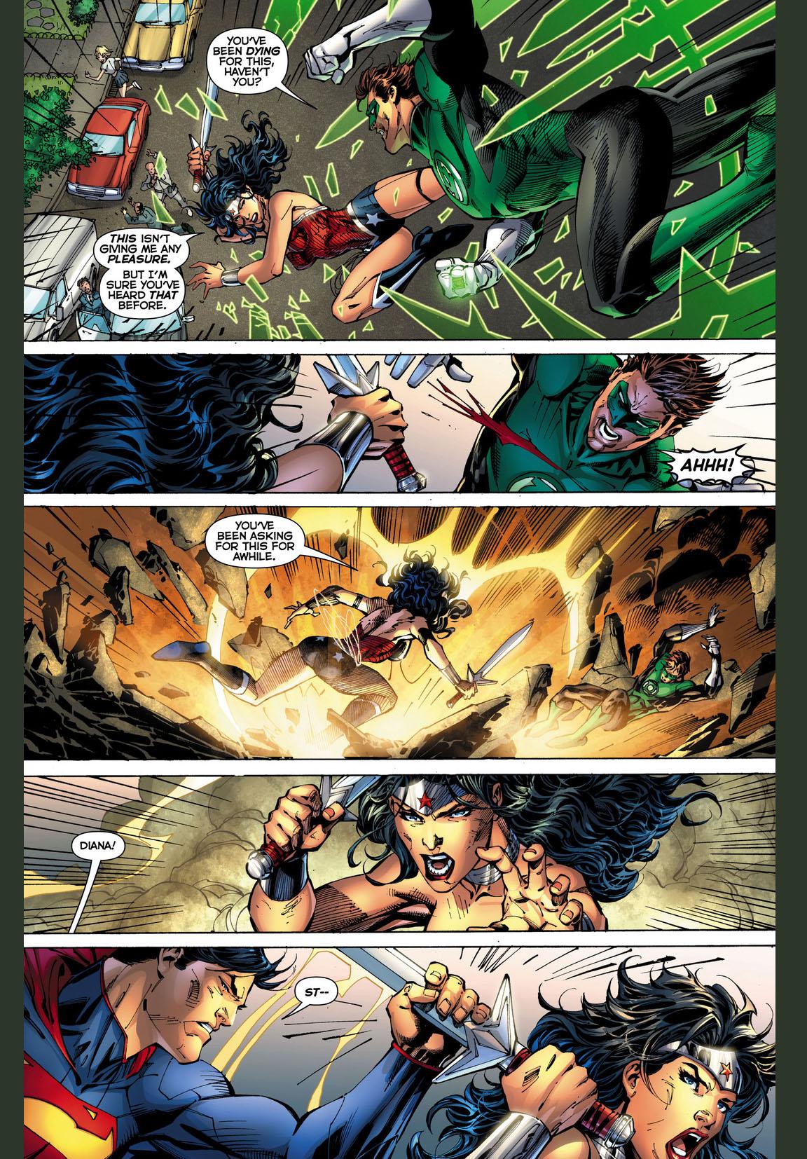 wonder woman vs green lantern 4