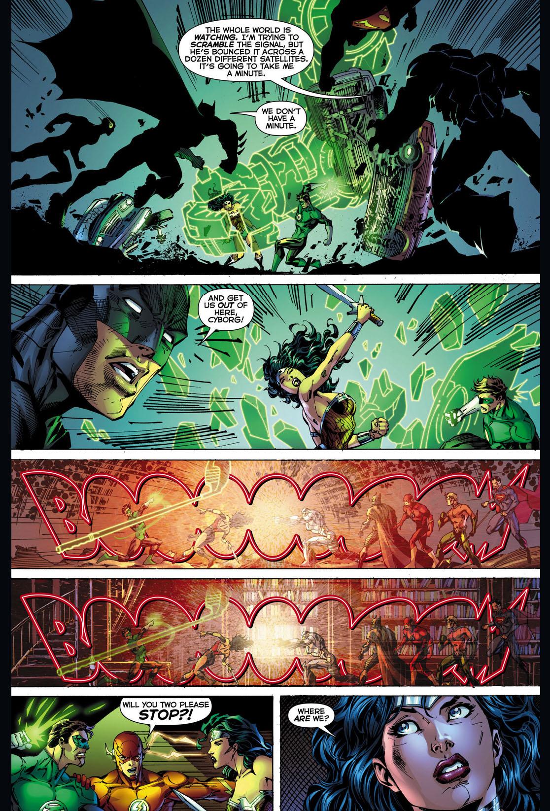 wonder woman vs green lantern 5