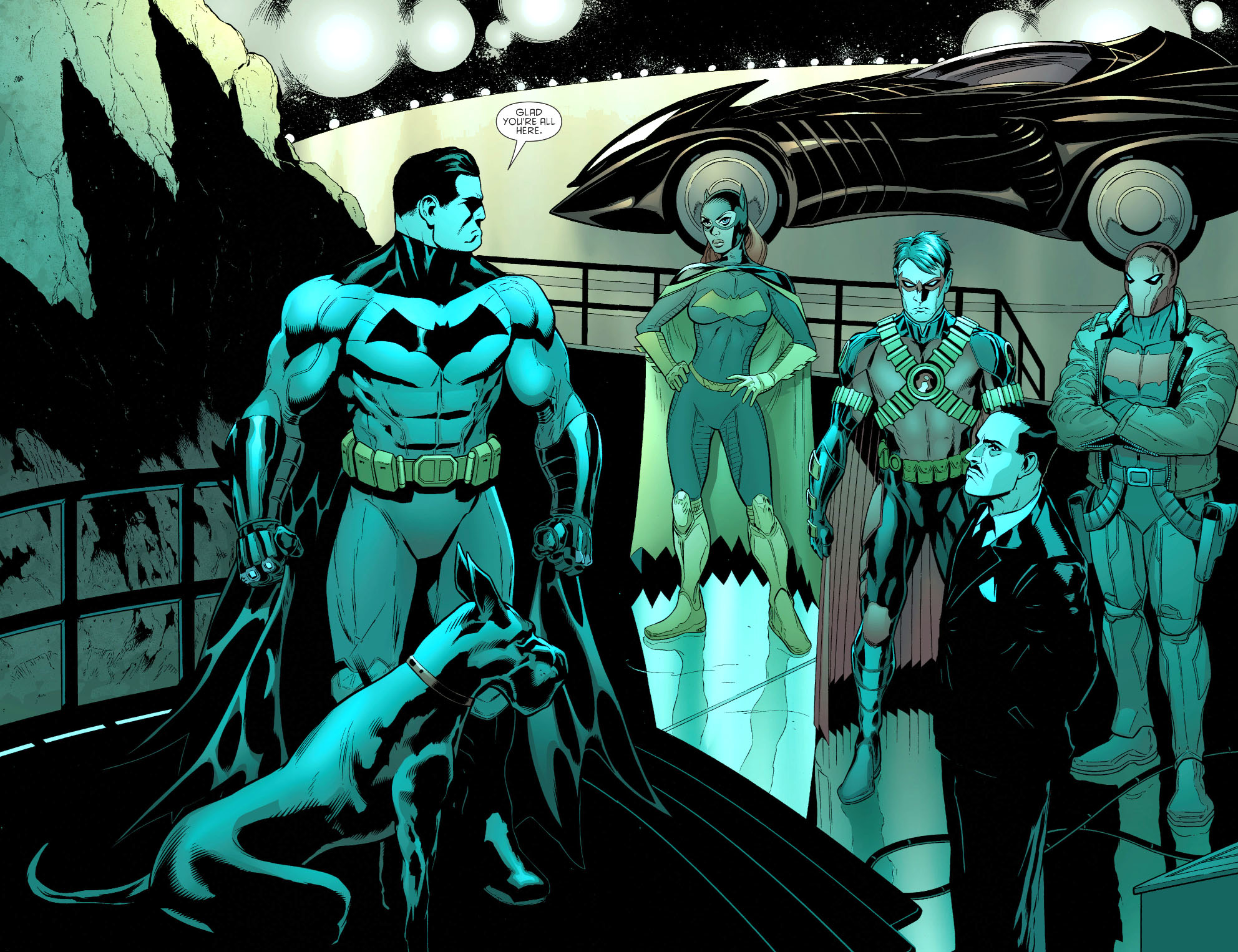 bat family (batman and robin 33)