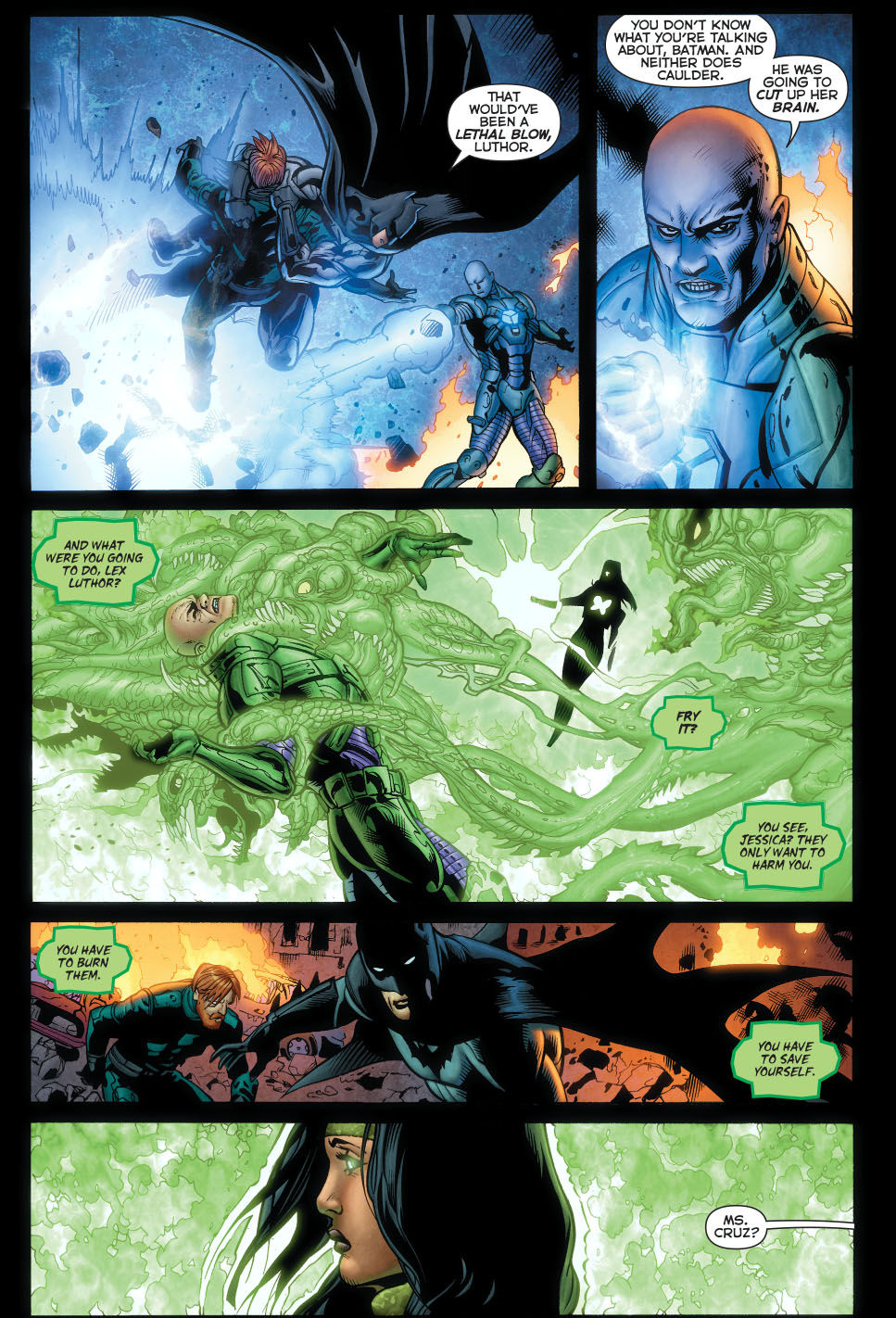 batman shuts down power ring 1