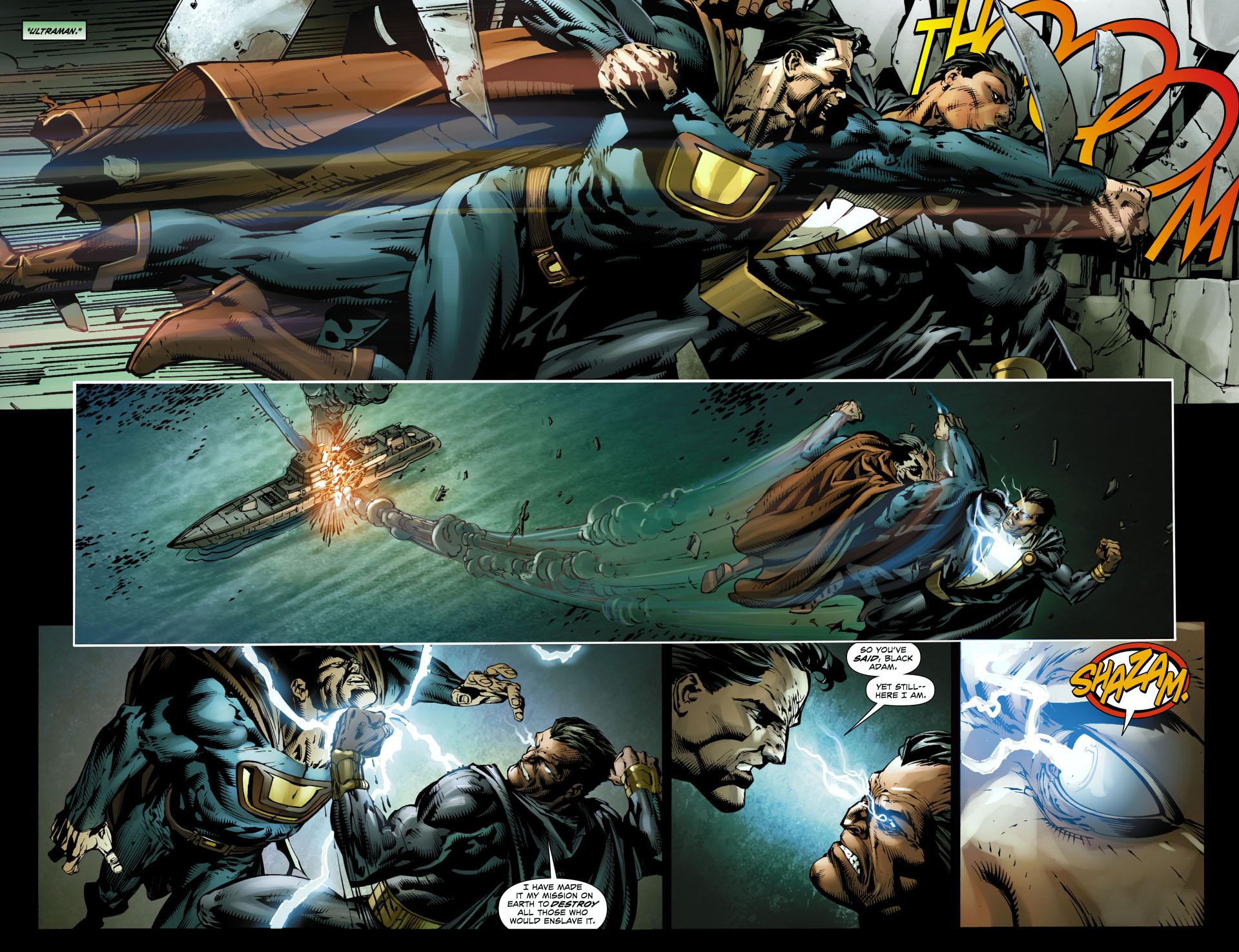 black adam vs ultraman 1