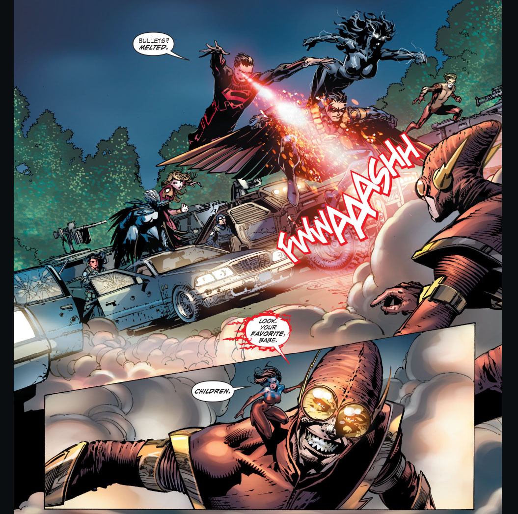johnny quick and atomica vs teen titans 1