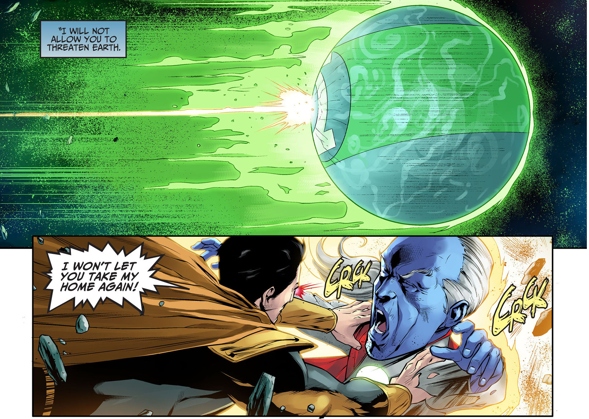 superman kills mogo and ganthet 2