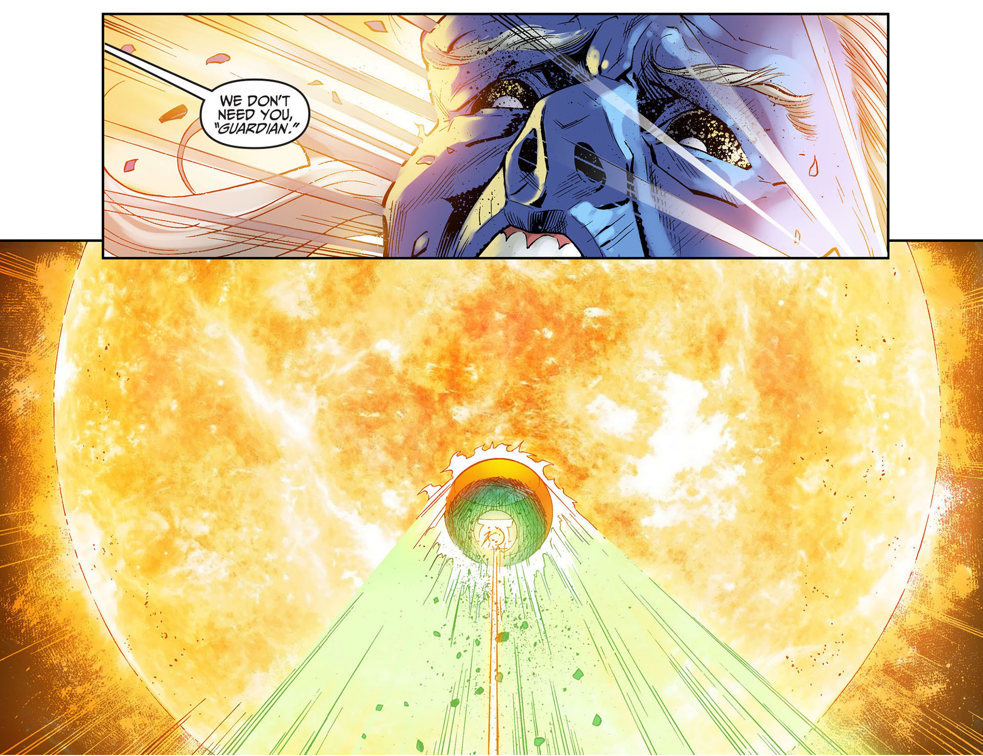 superman kills mogo and ganthet 4