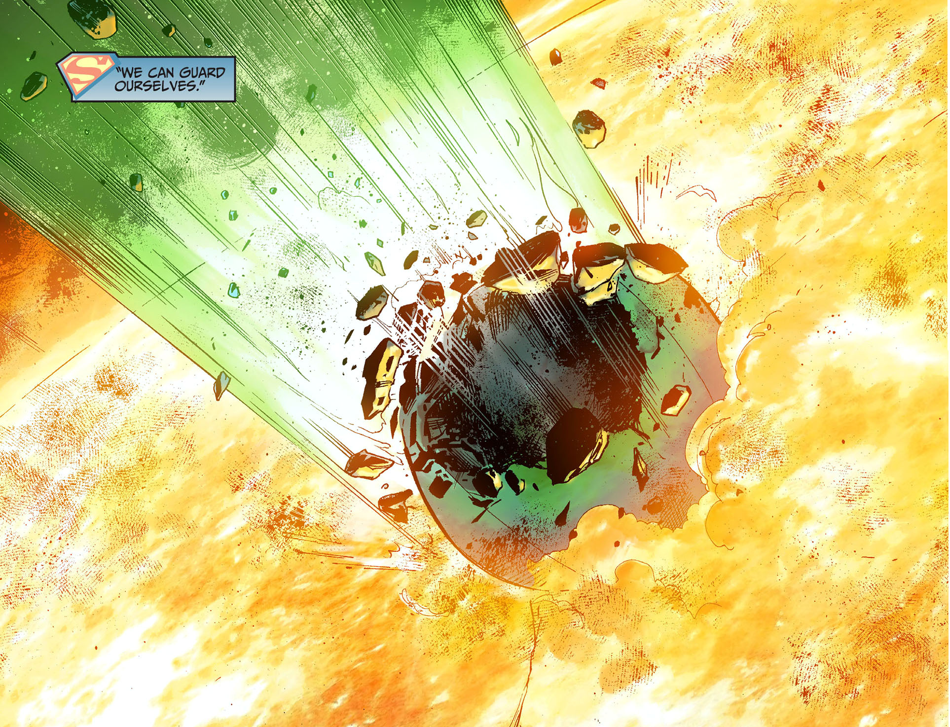 superman kills mogo and ganthet 5