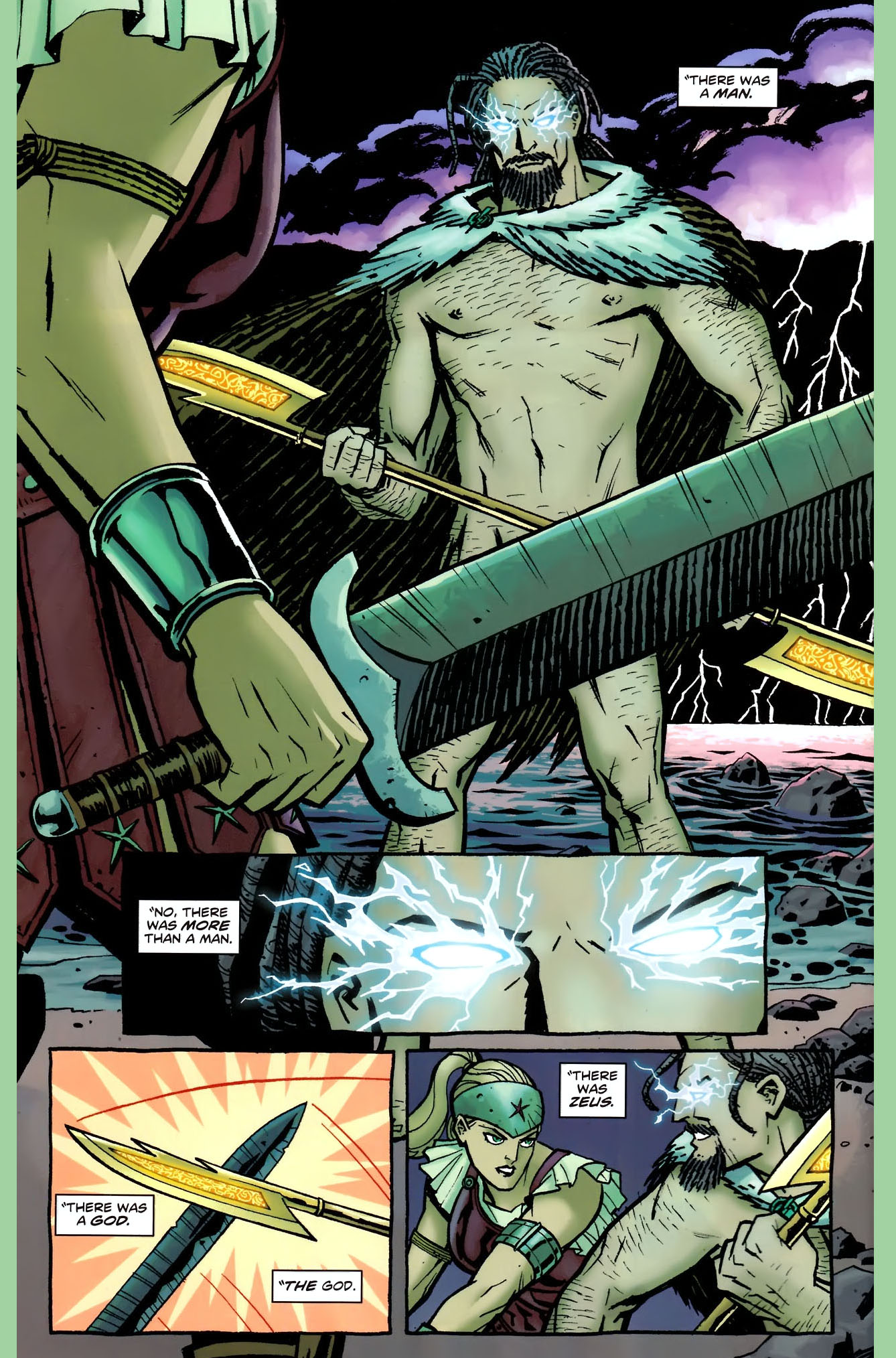 Wonder Woman's New 52 Origin Story 1