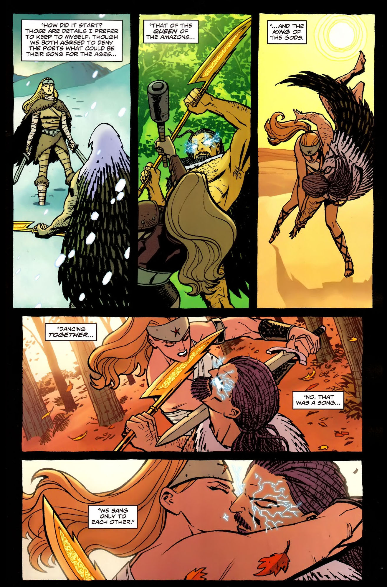 Wonder Woman's New 52 Origin Story 2