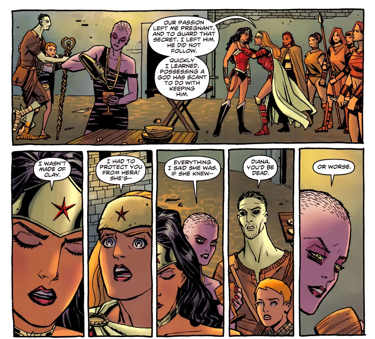 Wonder Woman's New 52 Origin Story 4
