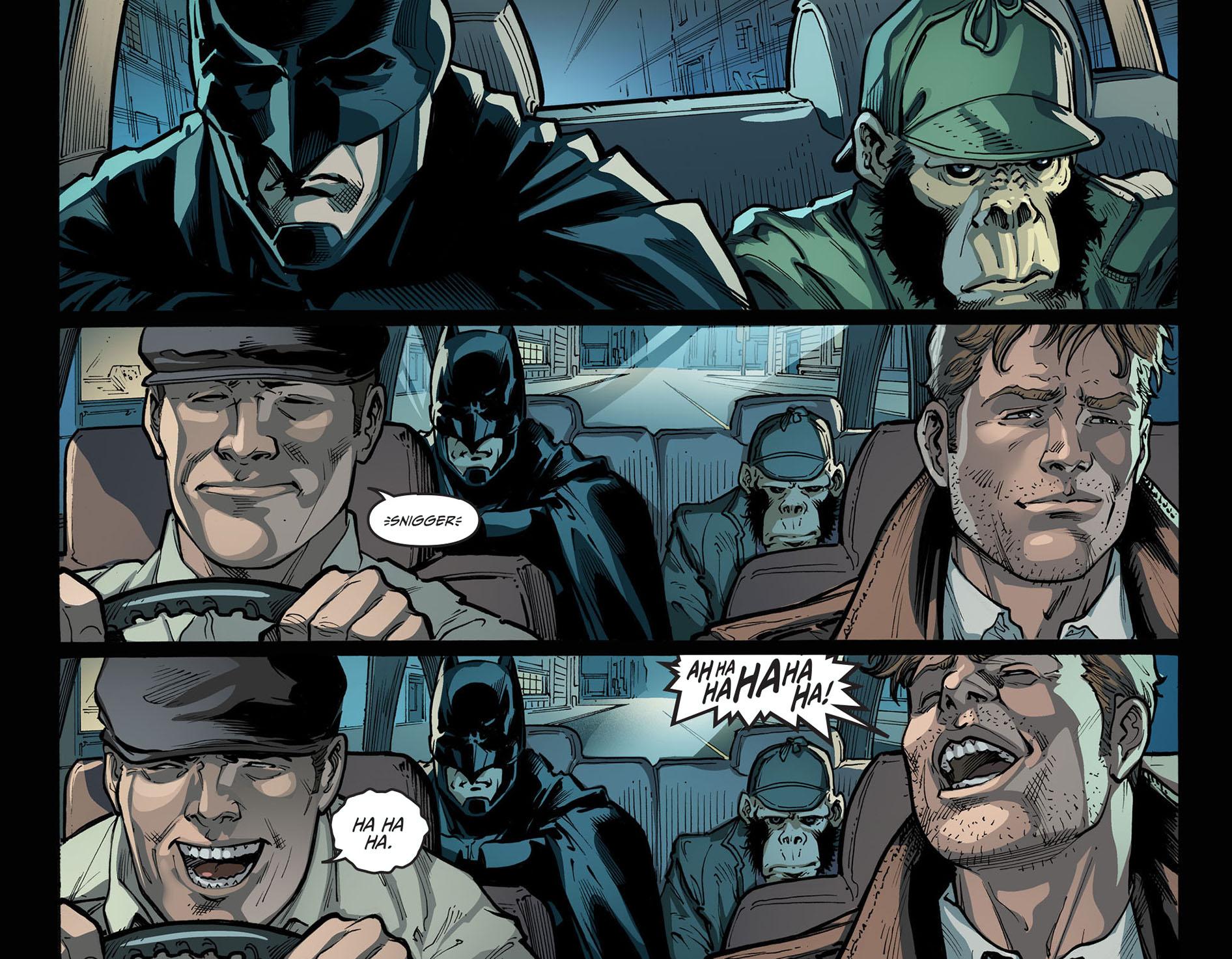 constantine jokes about batman 2