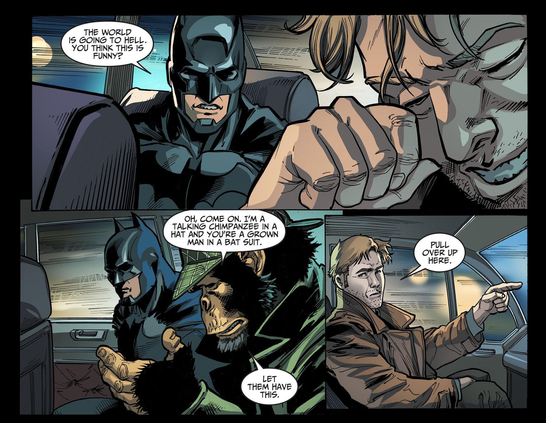 constantine jokes about batman 3