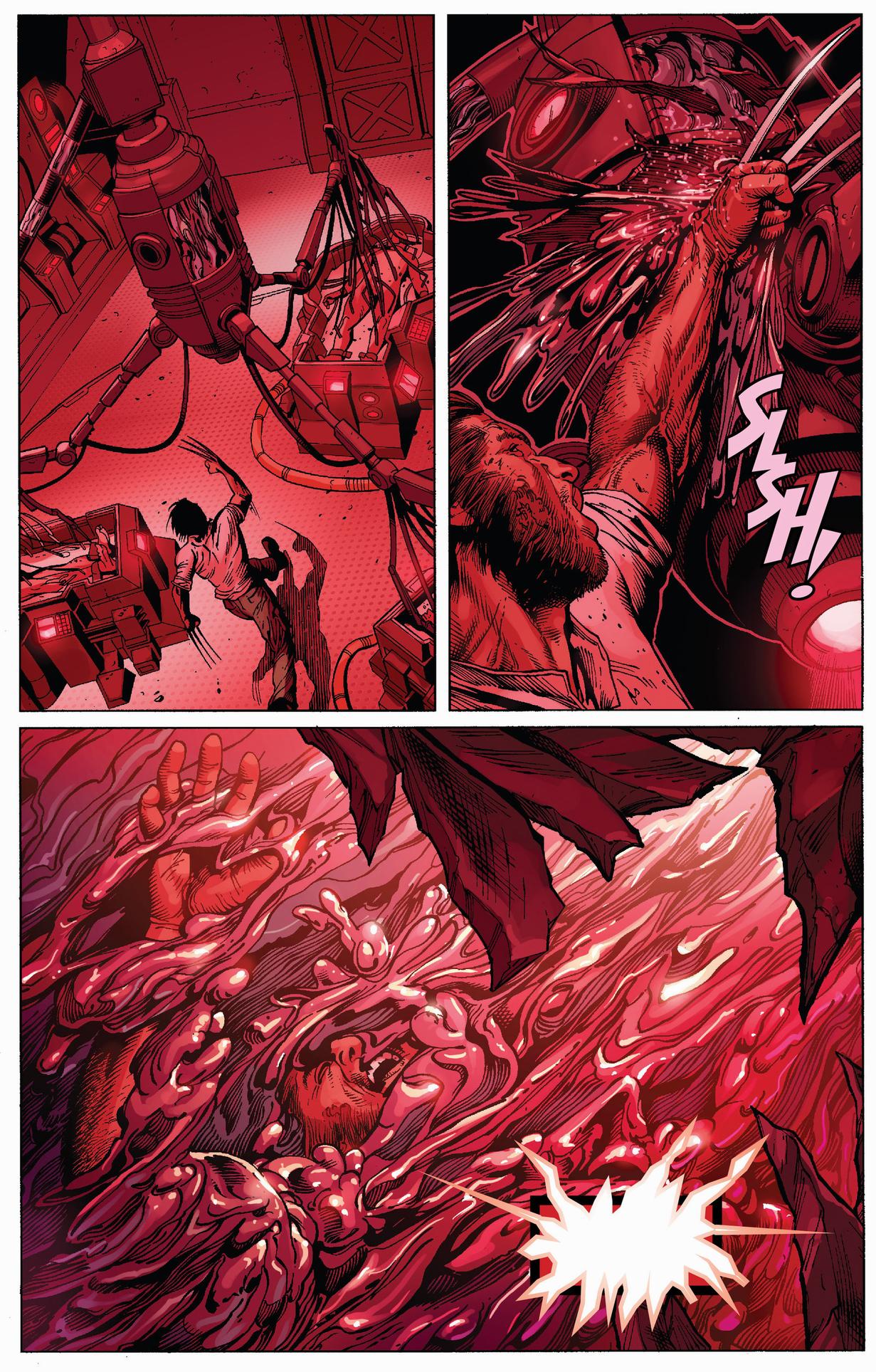 how wolverine died 1