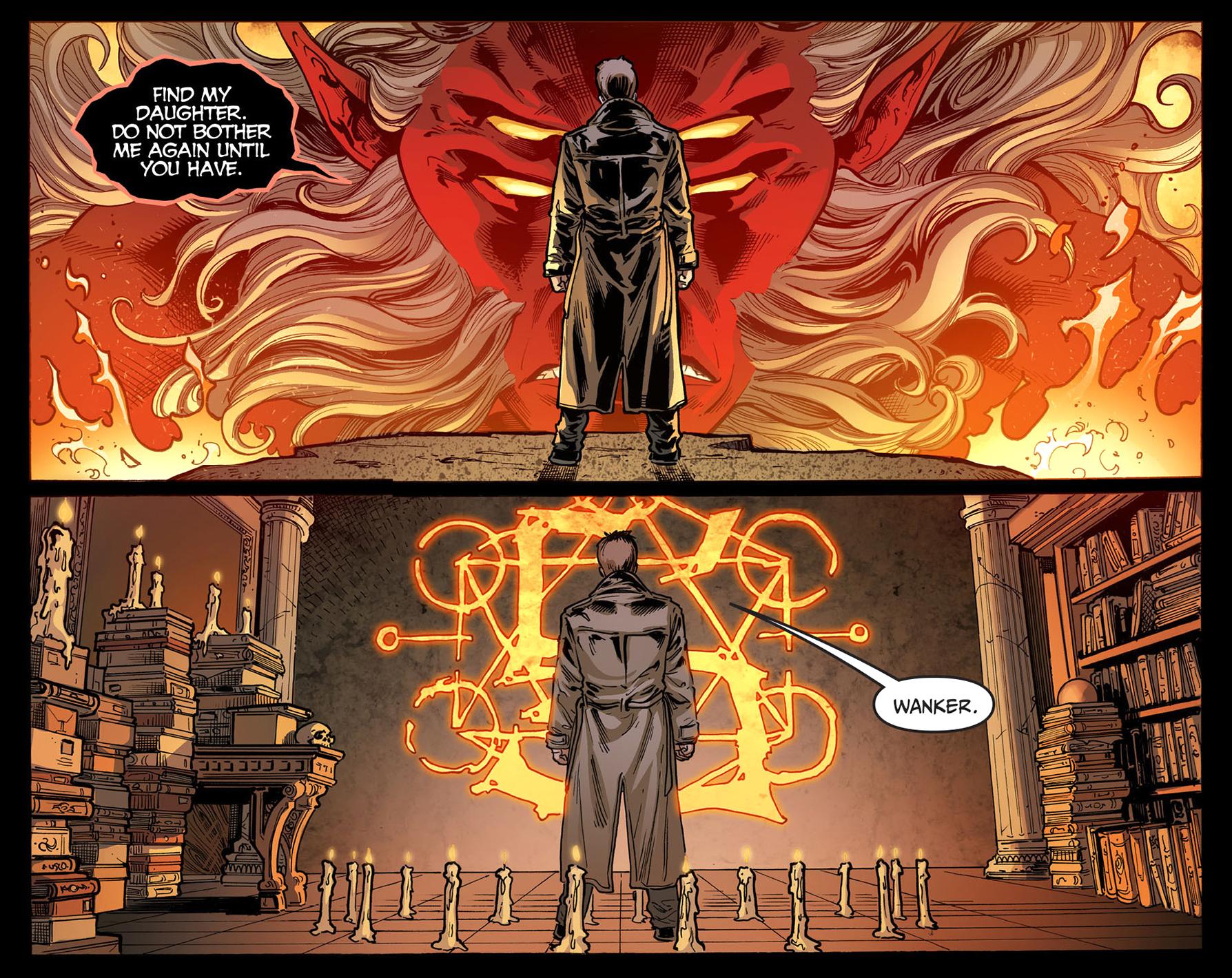 trigon owns a piece of constantine's soul