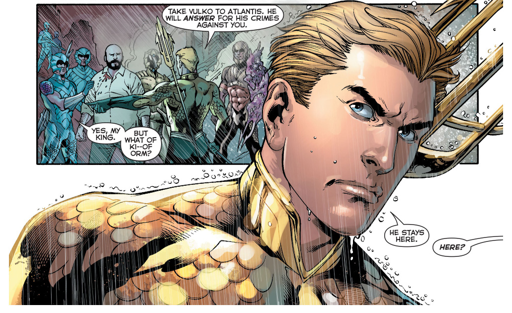 aquaman's punishment to ocean master