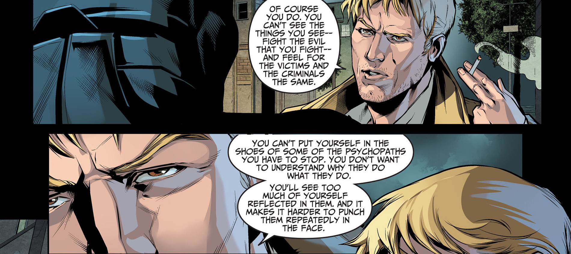 batman and constantine bonds
