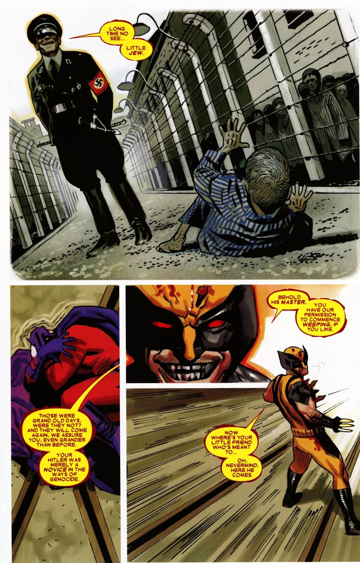 demon possessed wolverine vs magneto