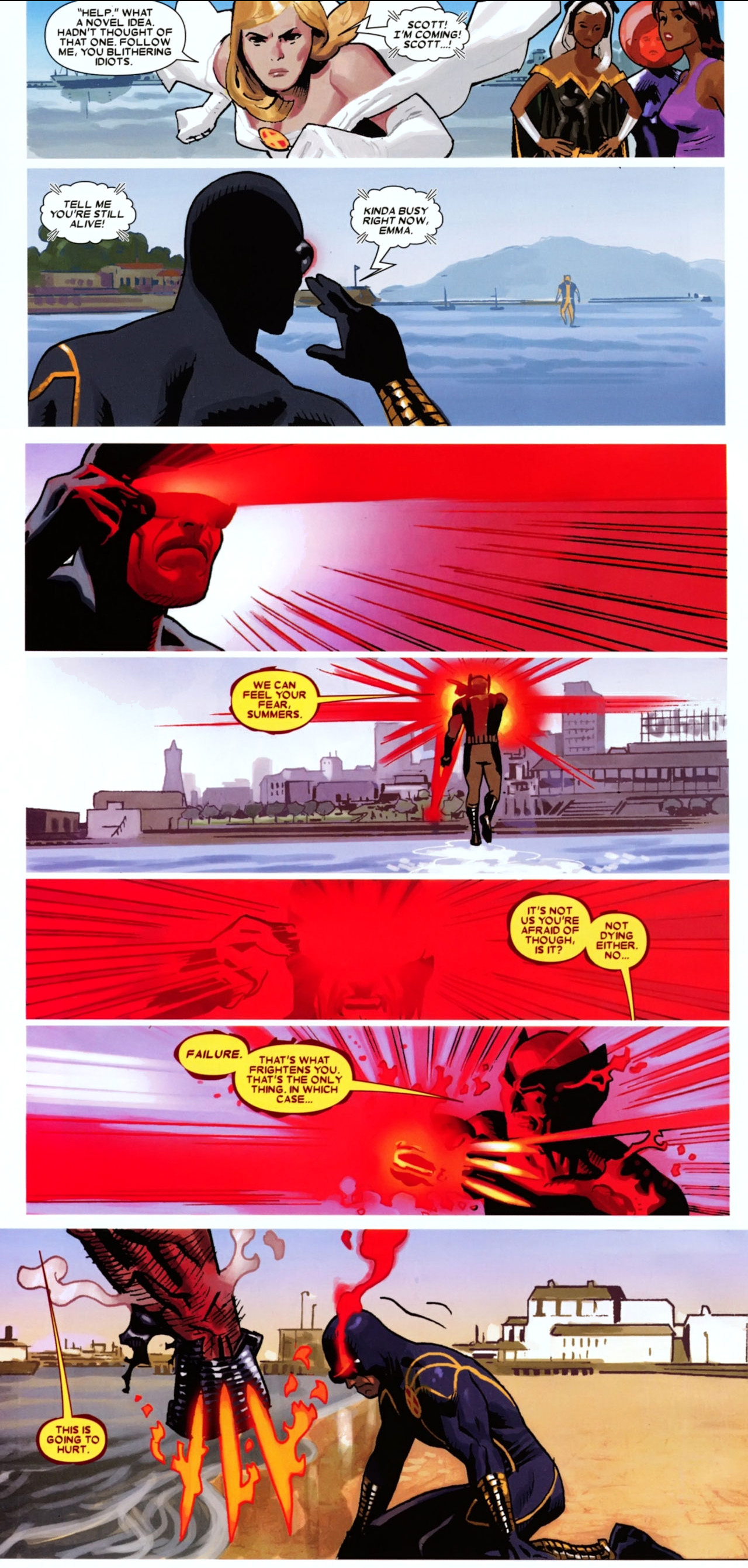 greatest fear of cyclops