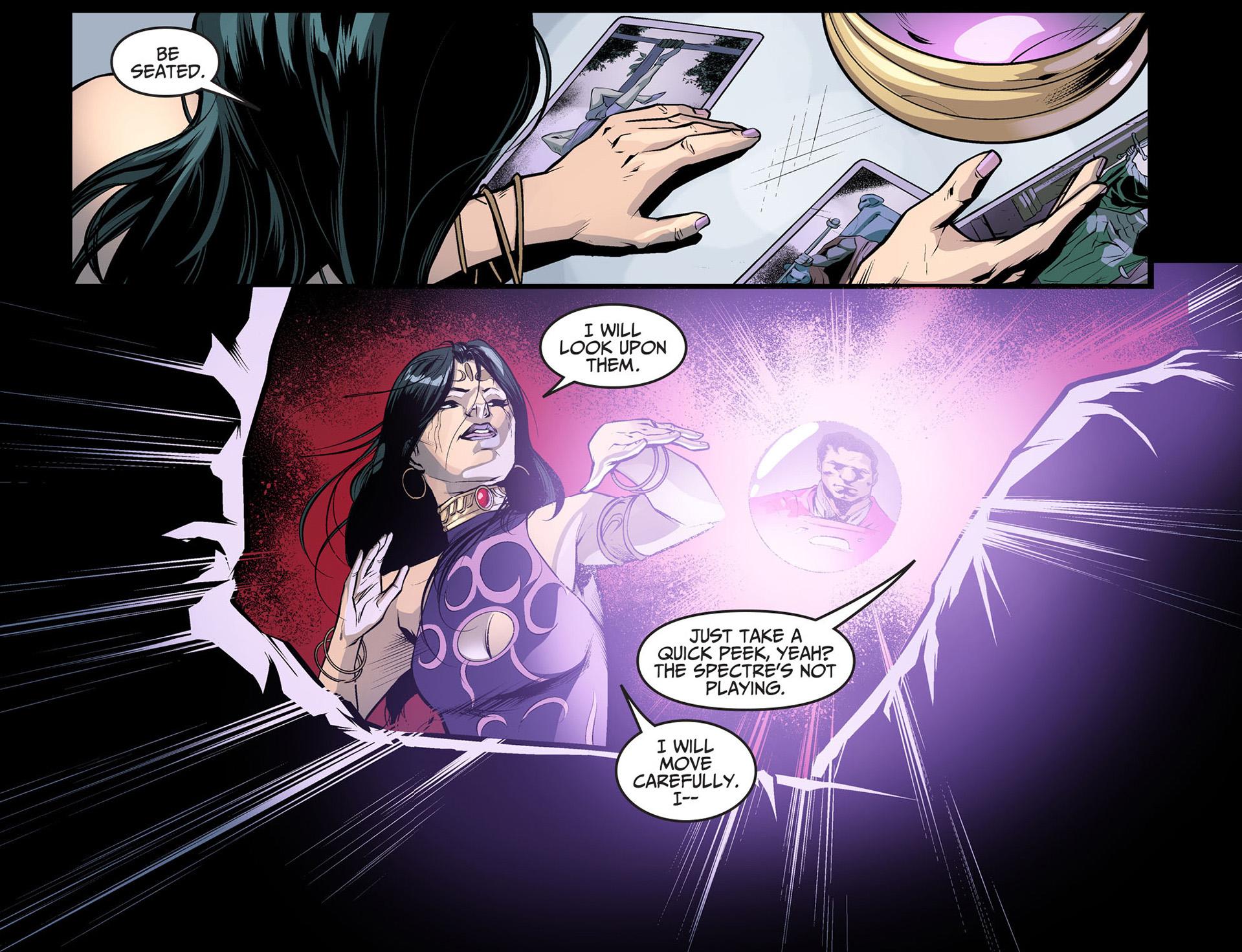 madame xanadu looks for information against superman
