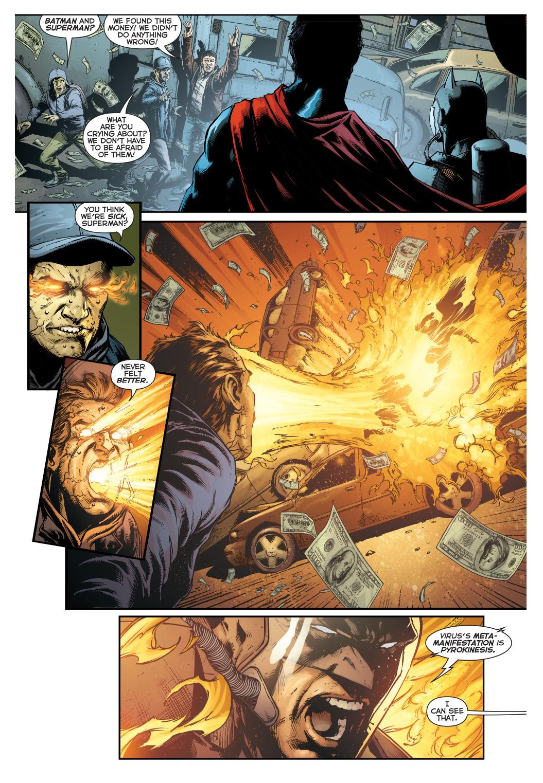 Superman And Batman VS Amazo Virus Infected Civilians