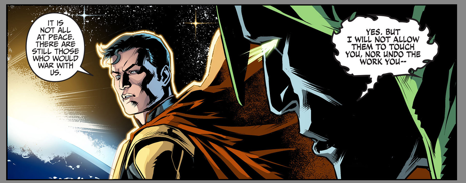 the spectre approves of superman