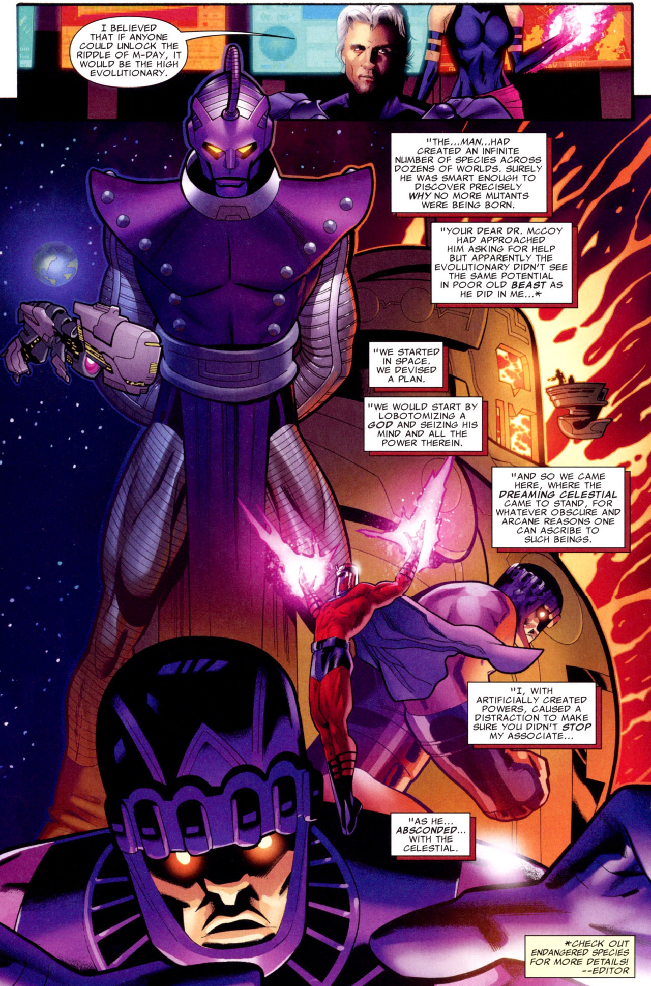why magneto doesn't move like an old man