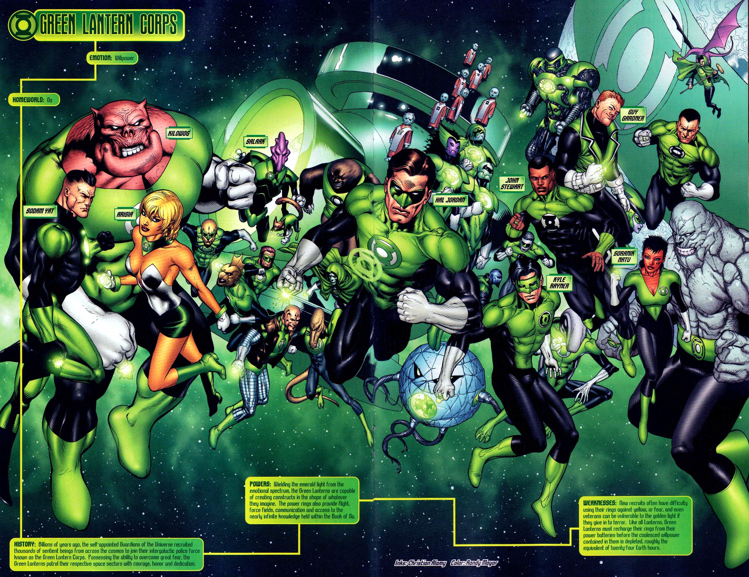 green lantern corps (blackest night)
