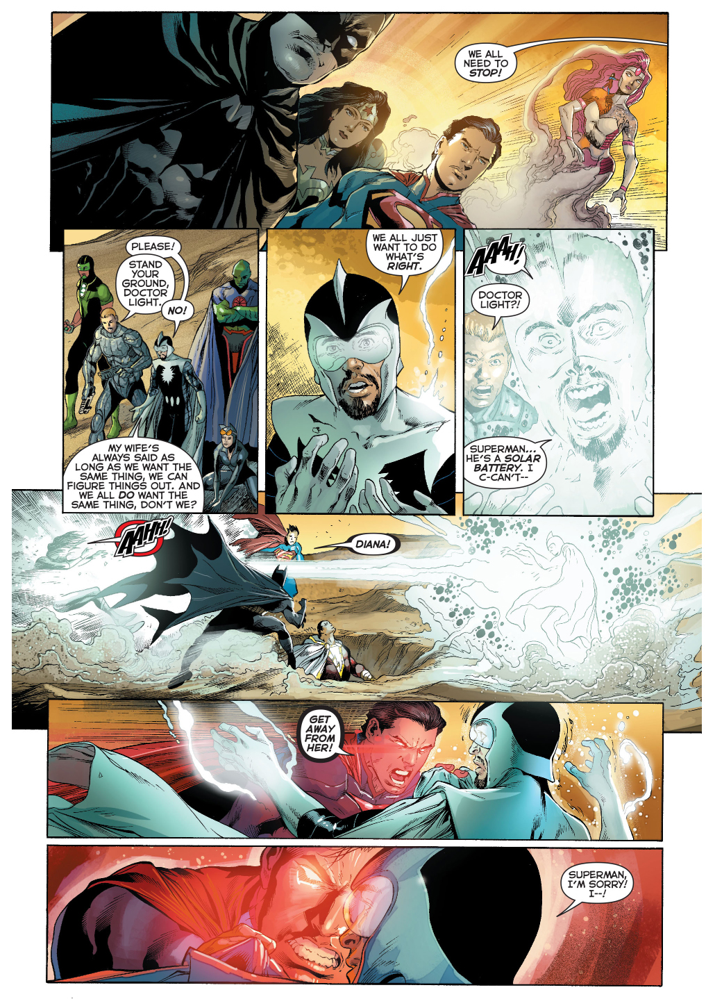 superman kills doctor light