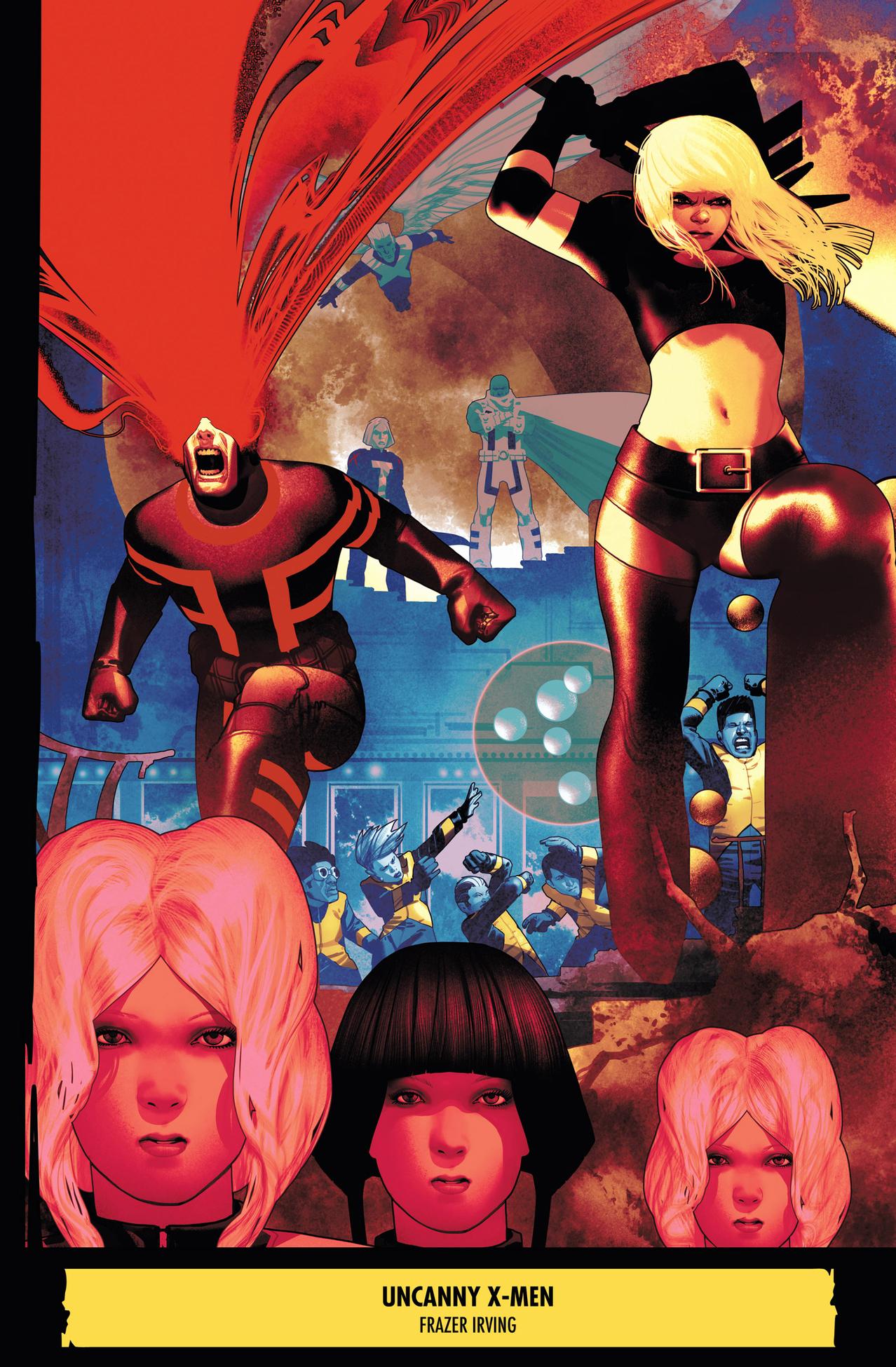 uncanny x-men team cyclops
