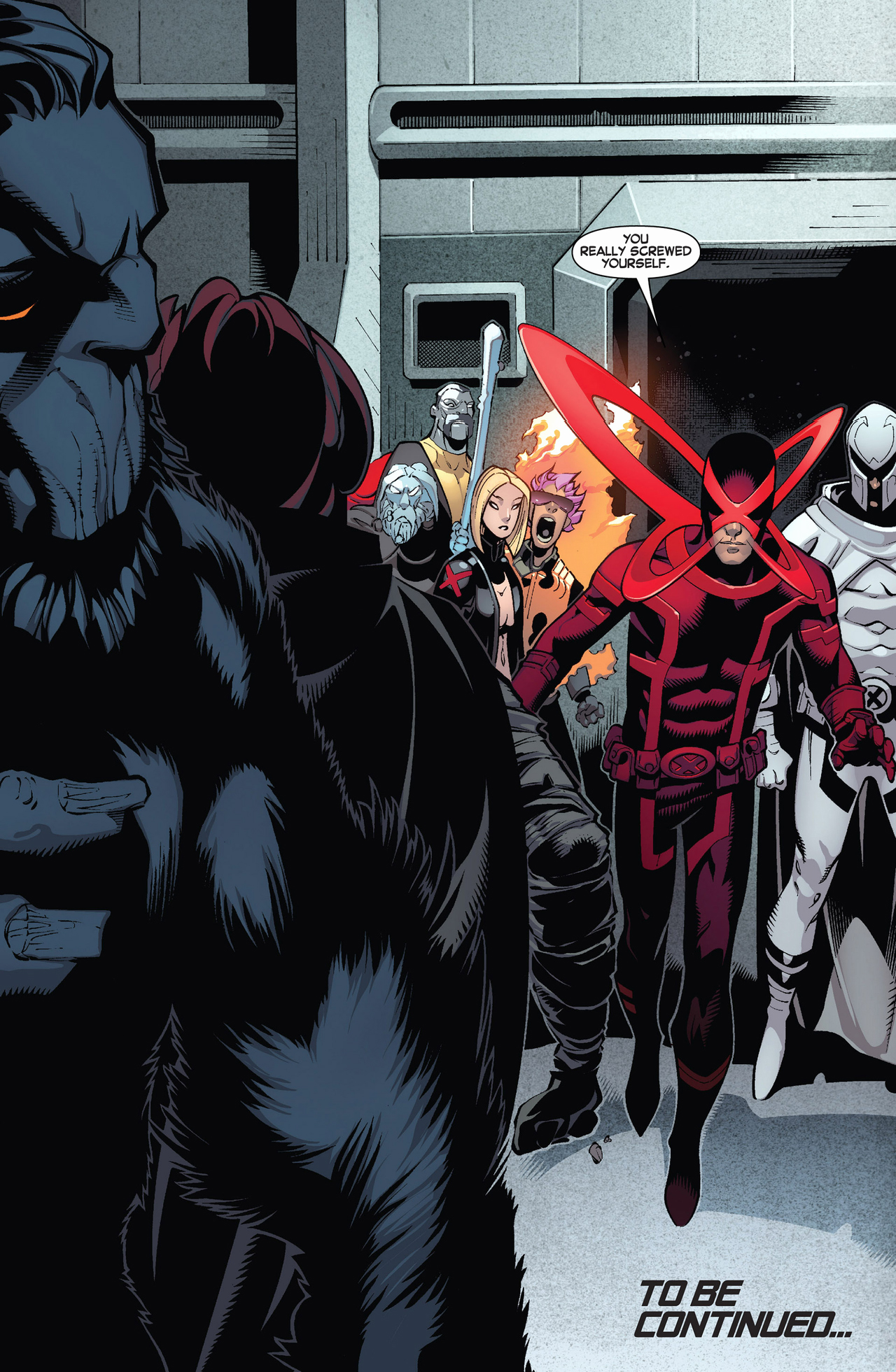 why the original 5 x-men can't time travel anymore