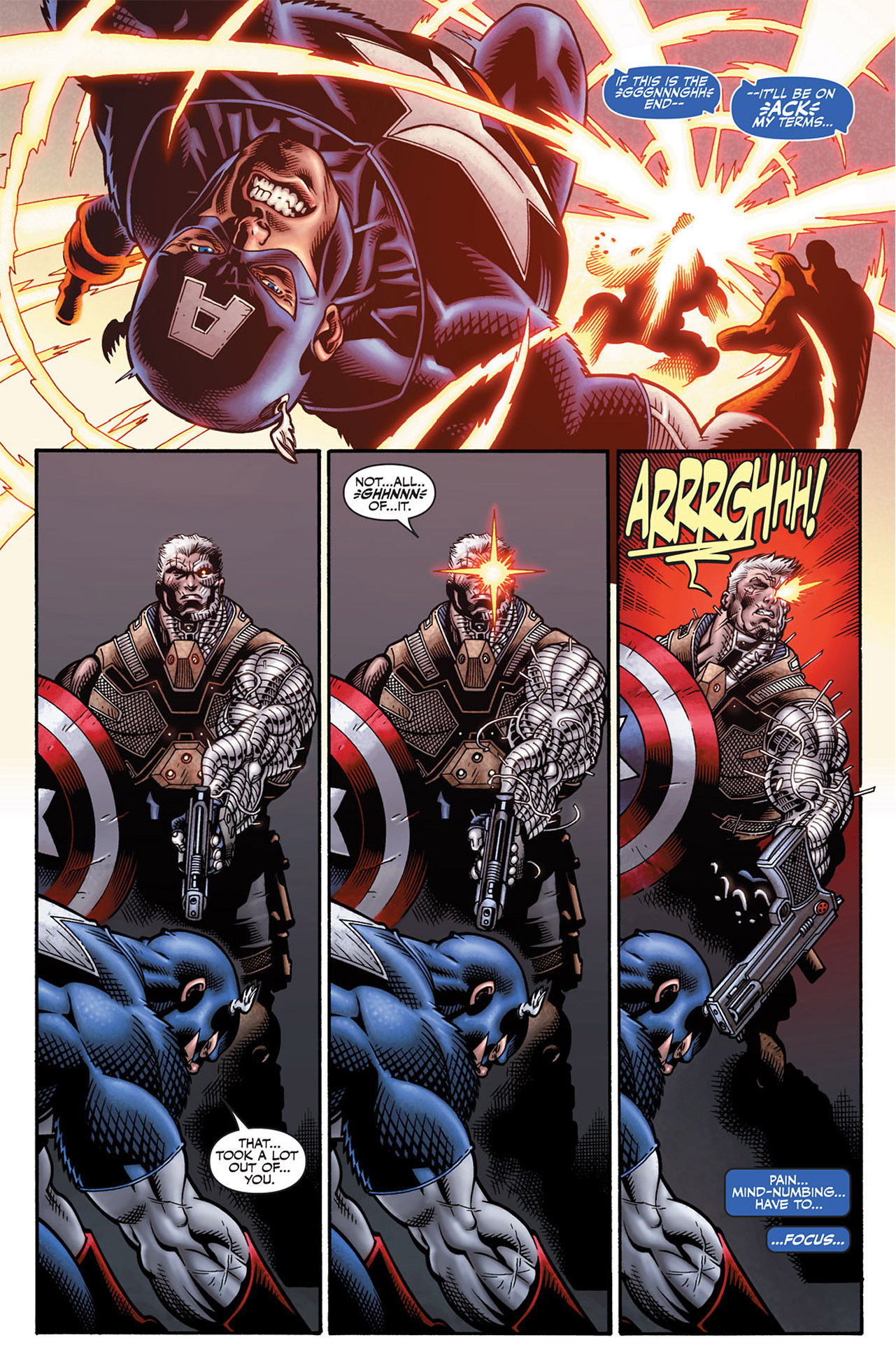 cable vs captain america