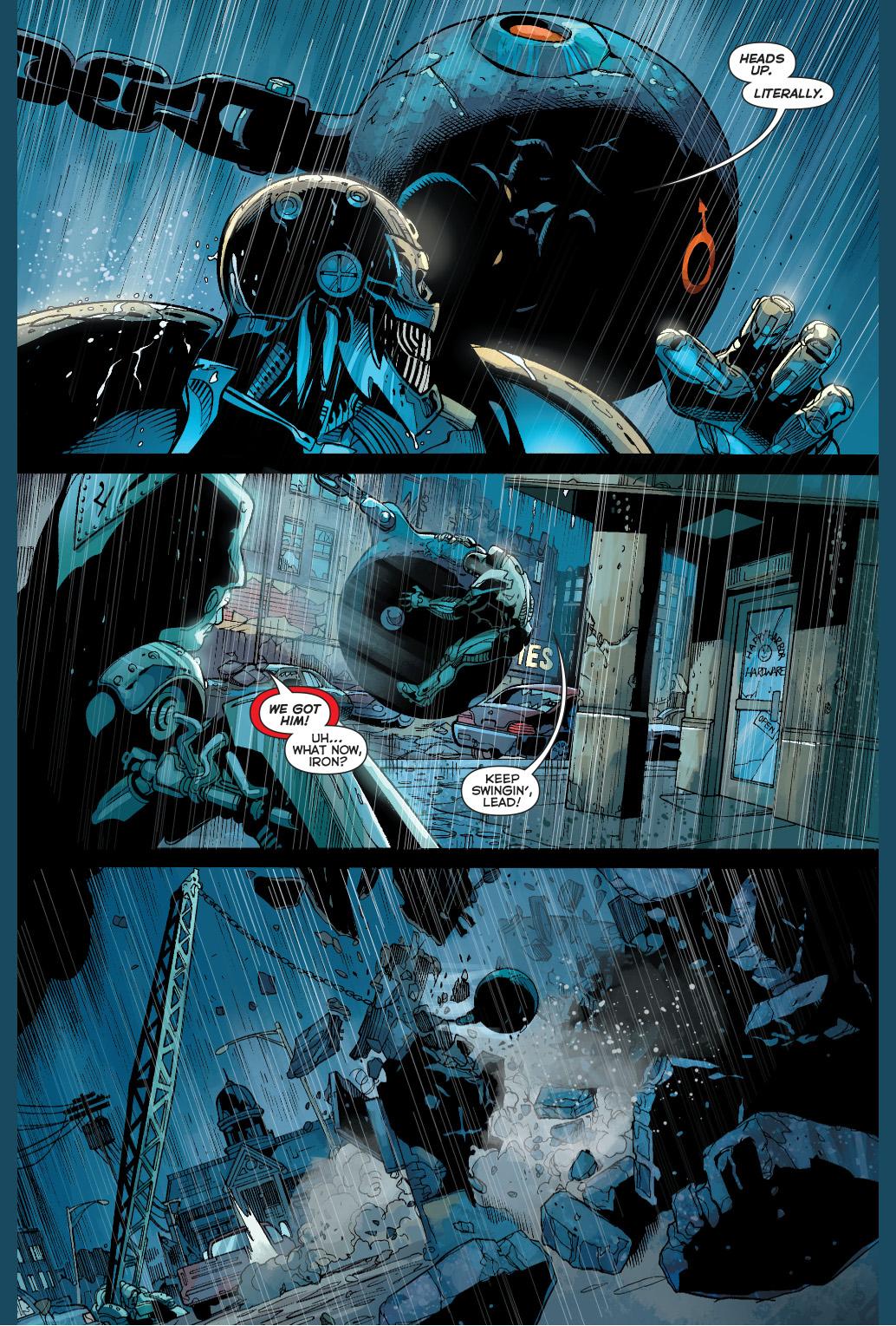 cyborg and the metal men vs grid