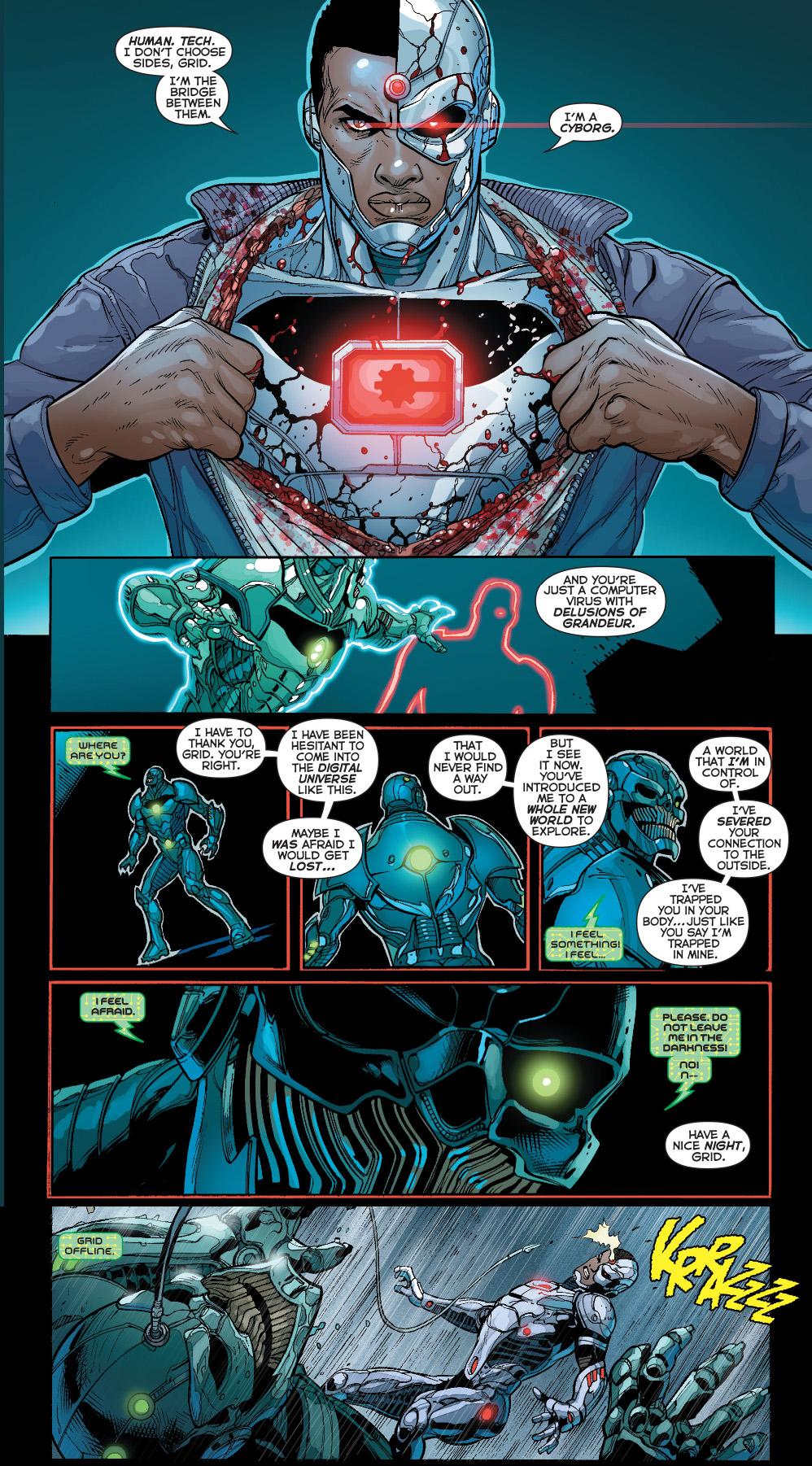 cyborg vs grid