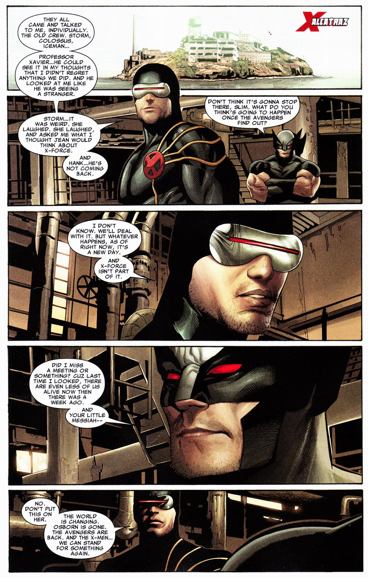 cyclops disbands x-force