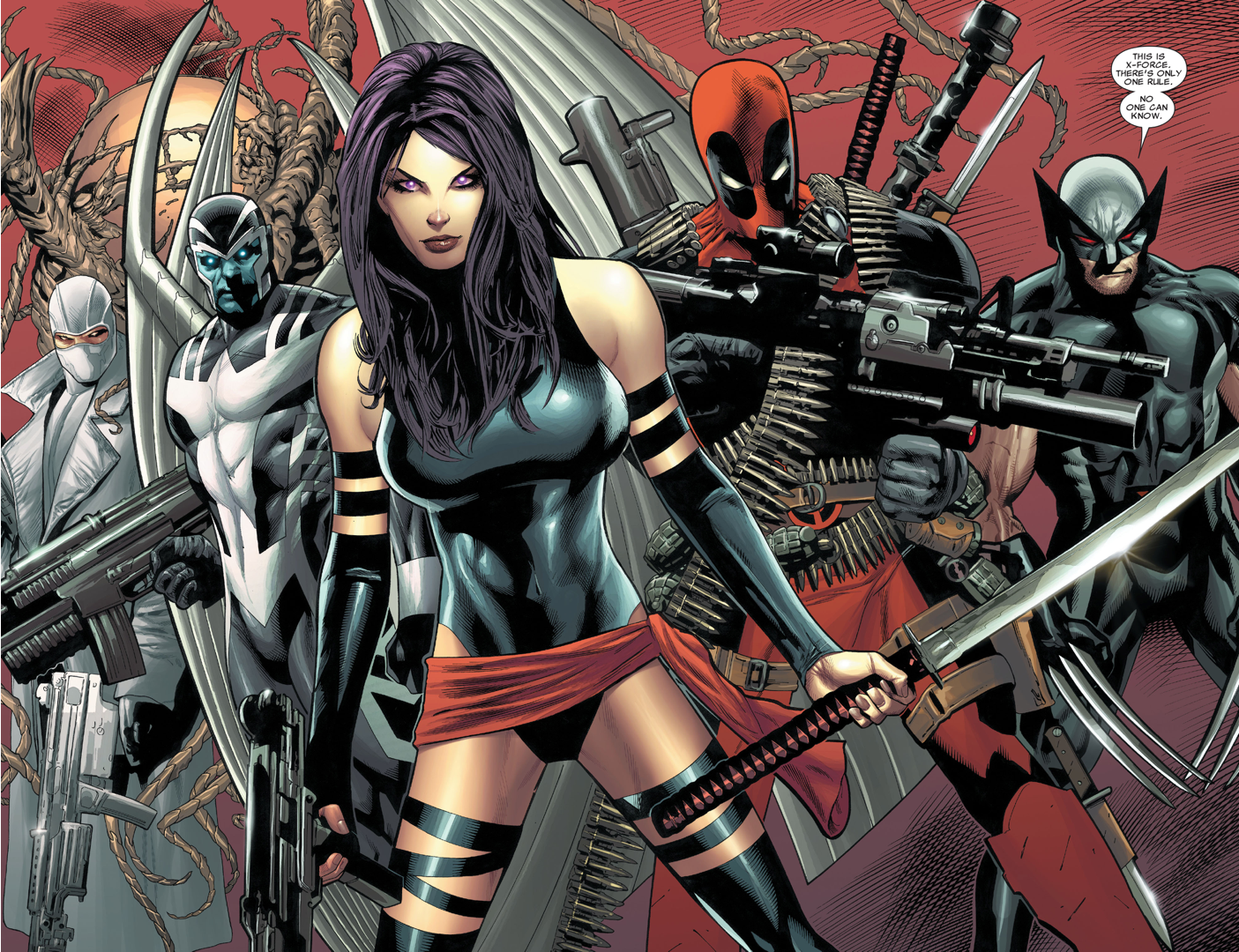 Cyclops Disbands X-Force 3