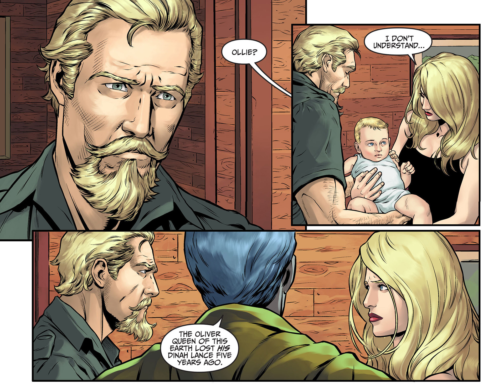doctor fate reunites black canary and green arrow