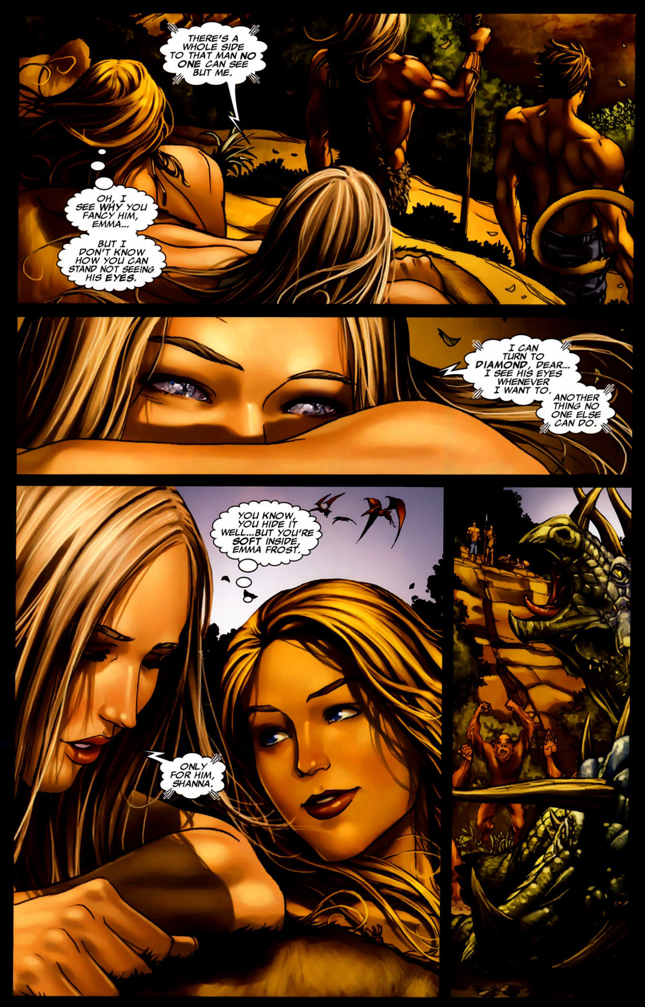 emma frost is soft only for cyclops