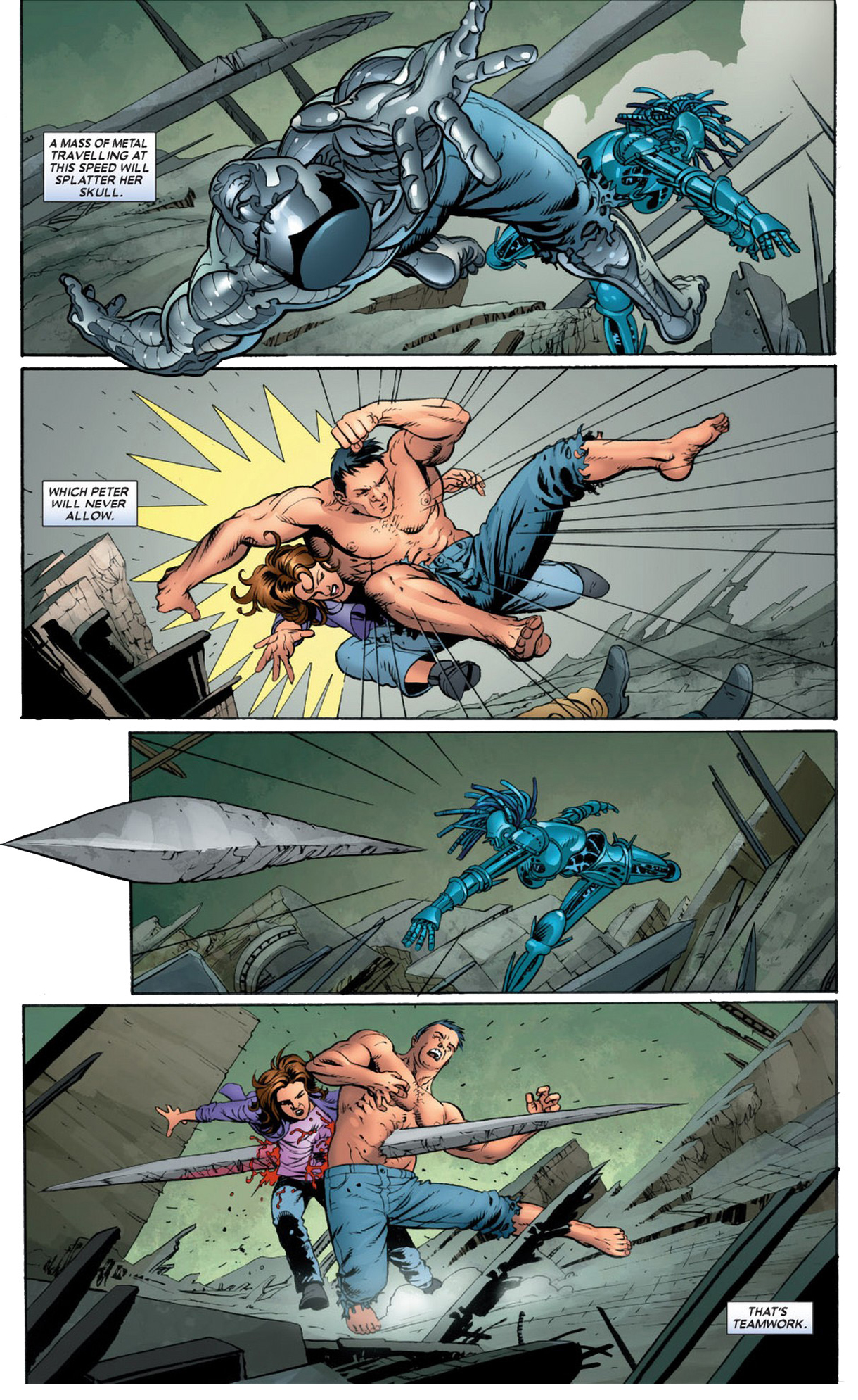 how danger took out colossus and kitty pryde