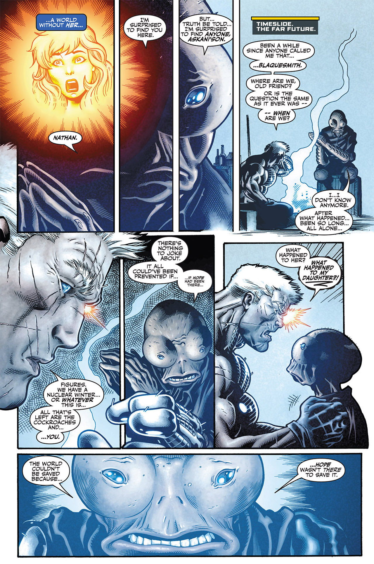 the world ended because the avengers took hope summers