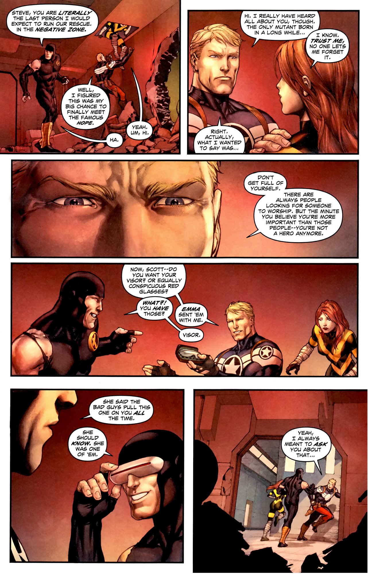 what bad guys pull on cyclops all the time